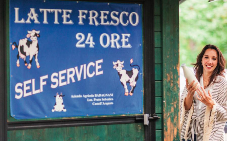 Sarena in Italië. Foto: Harold Pereira