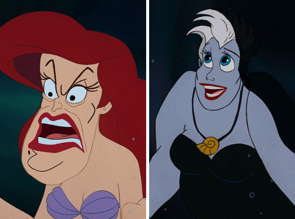 Face Swap met Disney-figuren