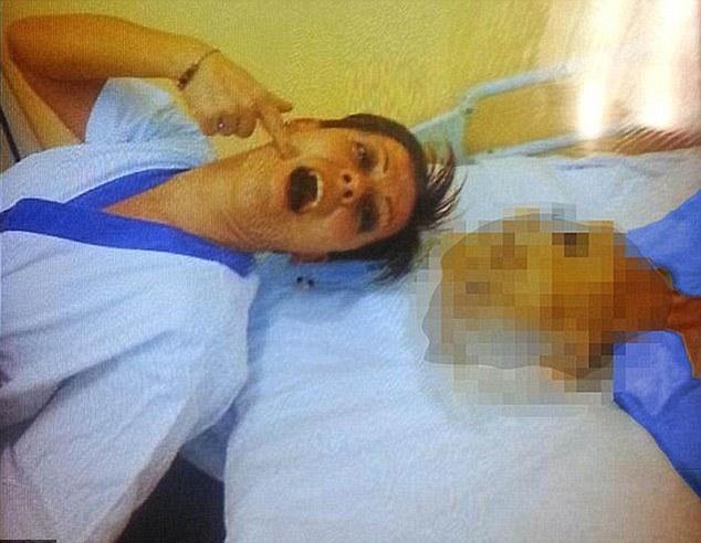Volgens de Italiaanse aanklager blijkt uit de foto's dat de vrouw een godcomplex heeft.