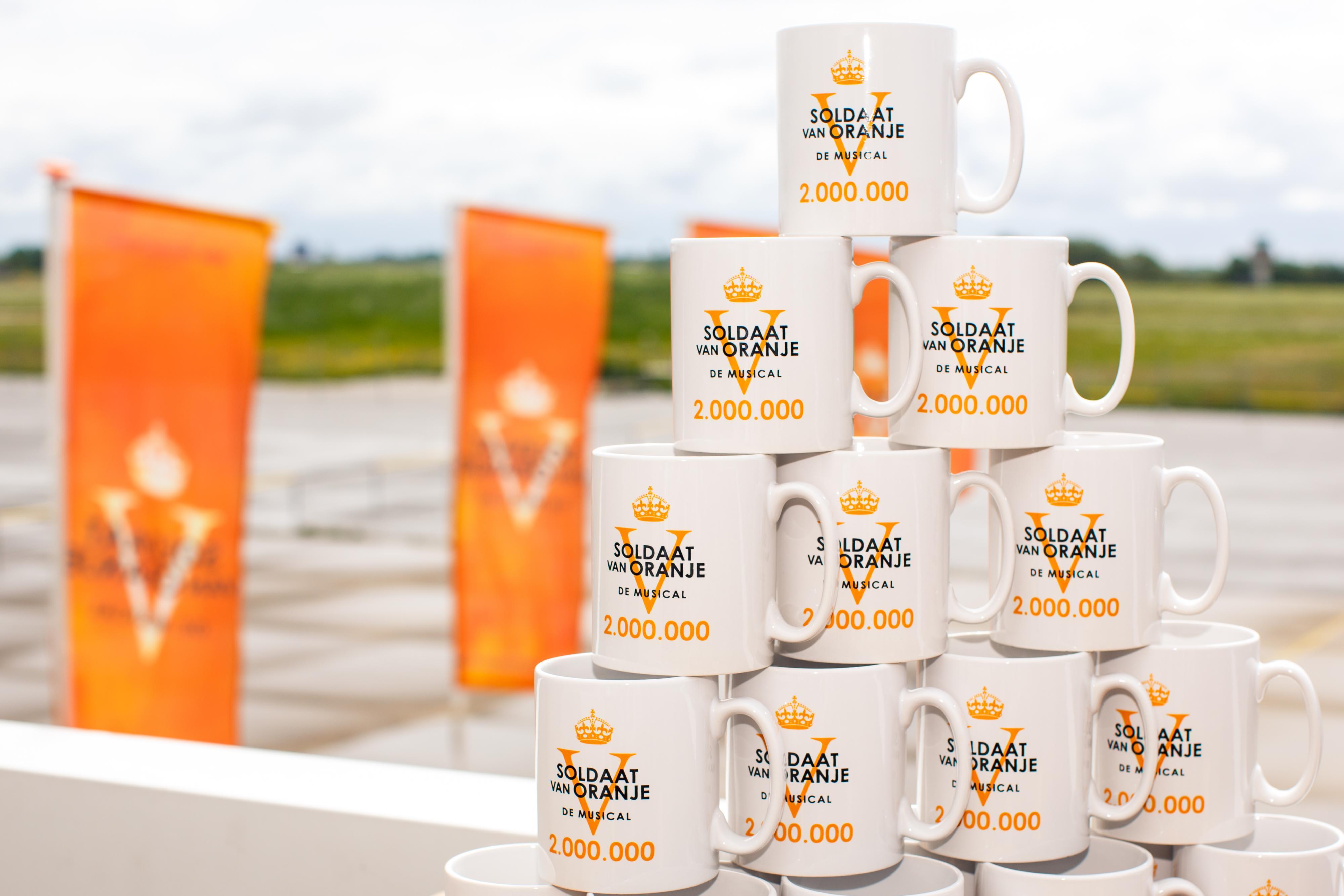 2 miljoen bezoekers Soldaat van Oranje