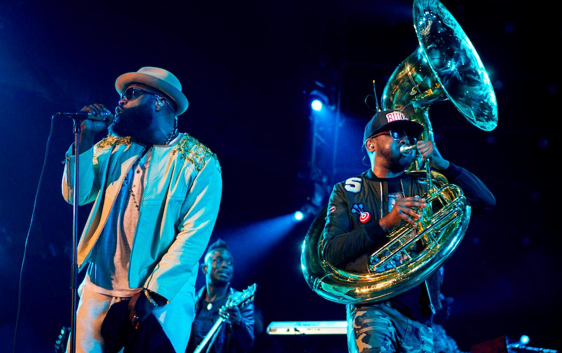 De Amerikaanse rapgroep The Roots