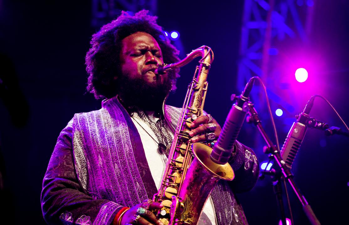 De Amerikaanse saxofonist Kamasi Washington. ANP
