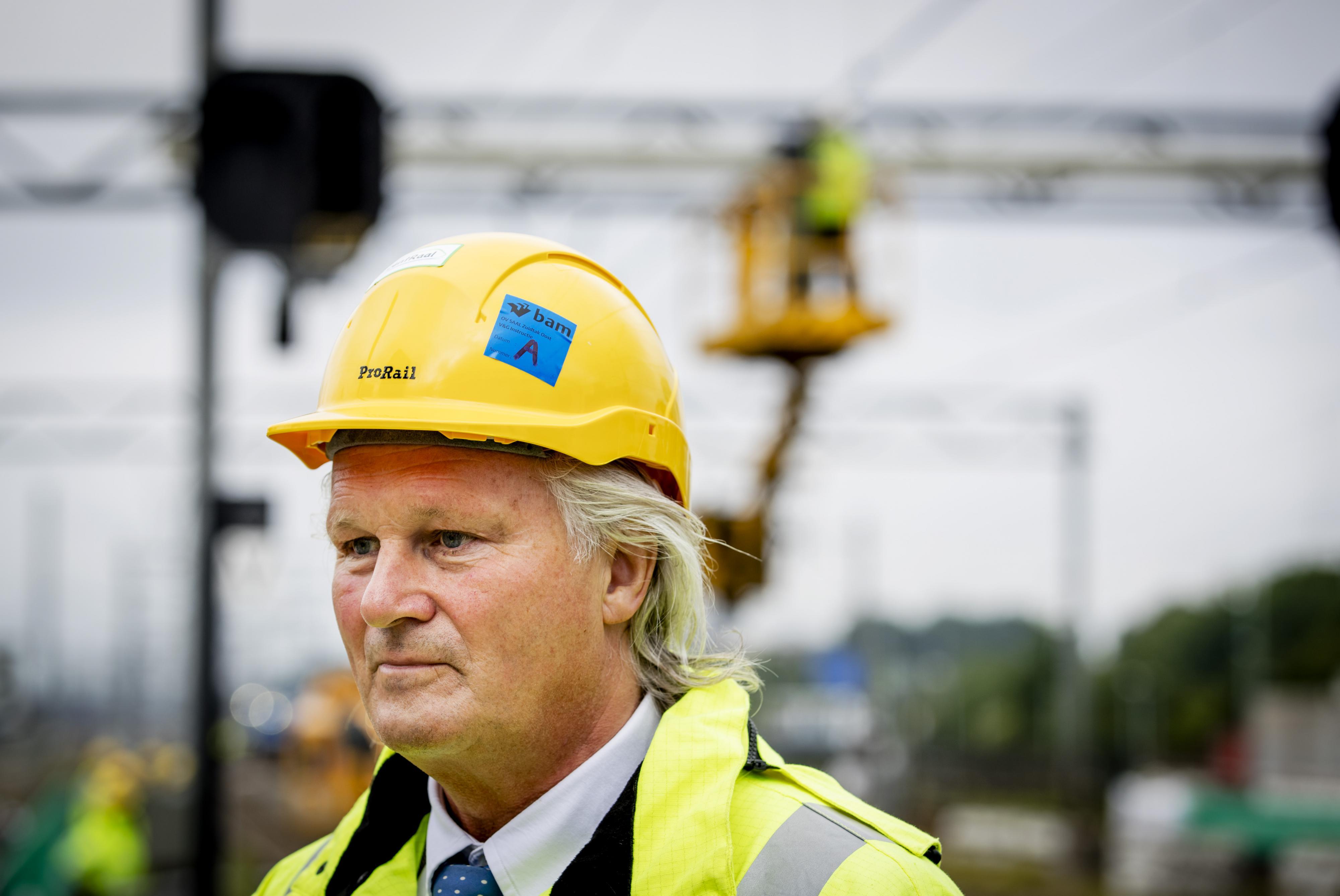Pier Eringa, president-directeur ProRail.