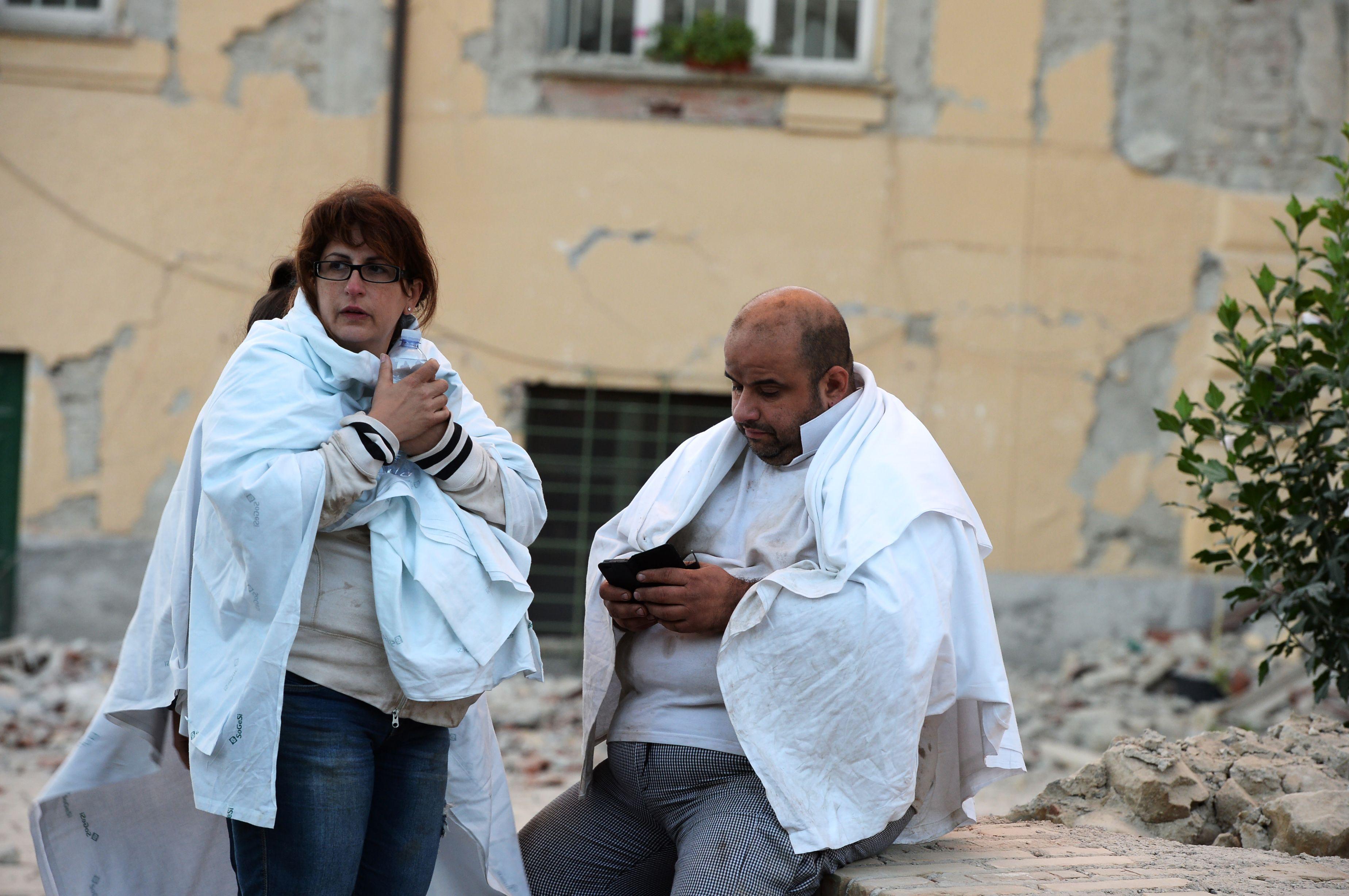 Zeker dertien doden bij zware aardbeving Italië