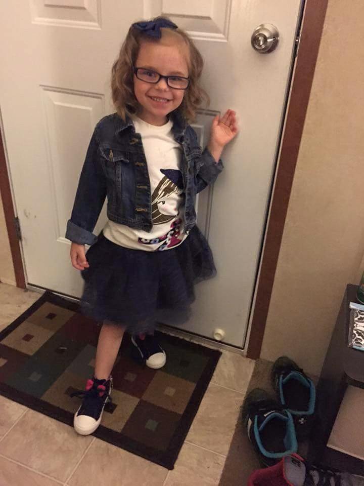 Eerste schooldag valt zwaar voor Amerikaanse dochter