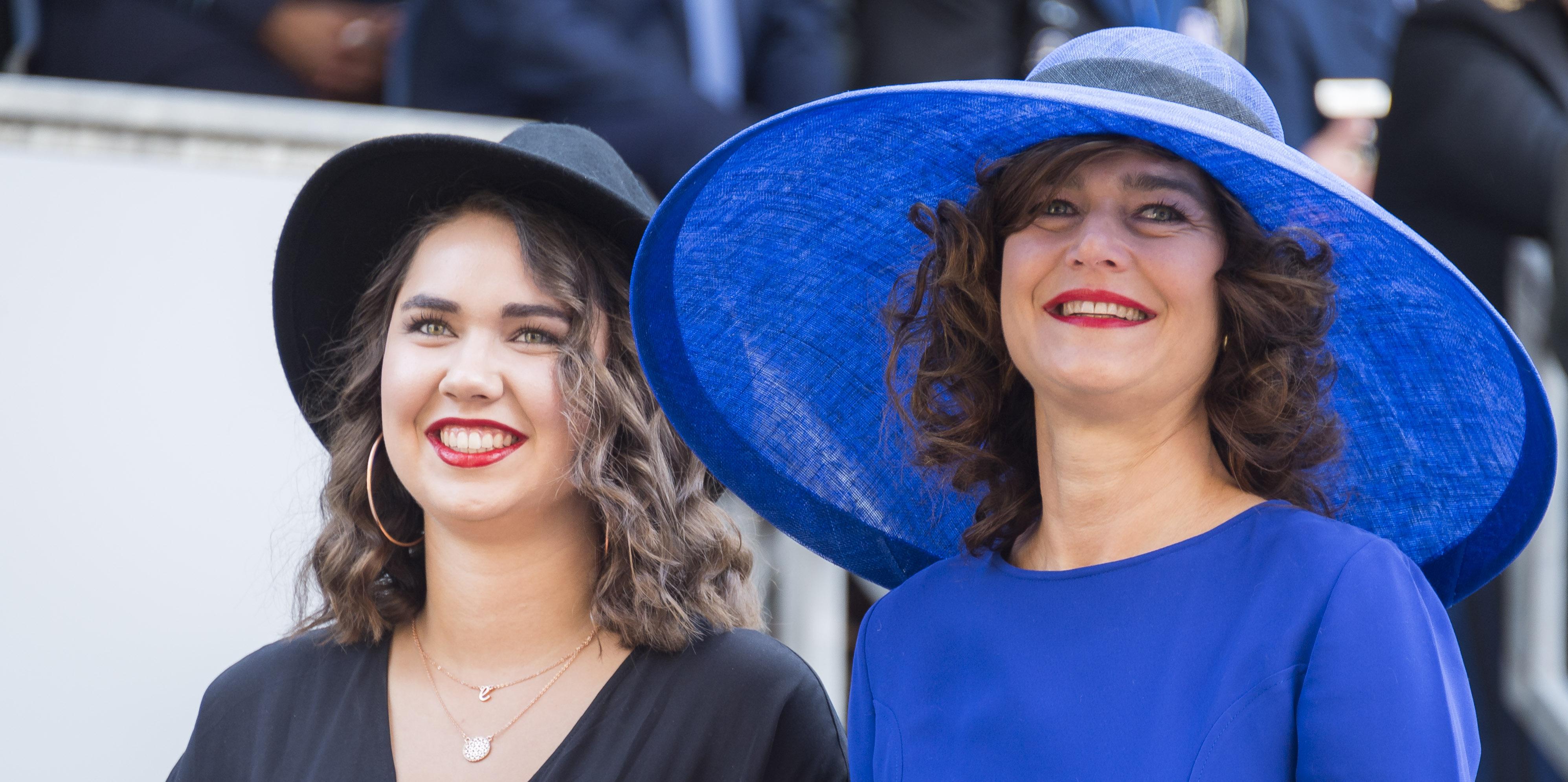 VVD-Kamerlid Anouchka van Miltenburg bij de Ridderzaal op Prinsjesdag. ANP