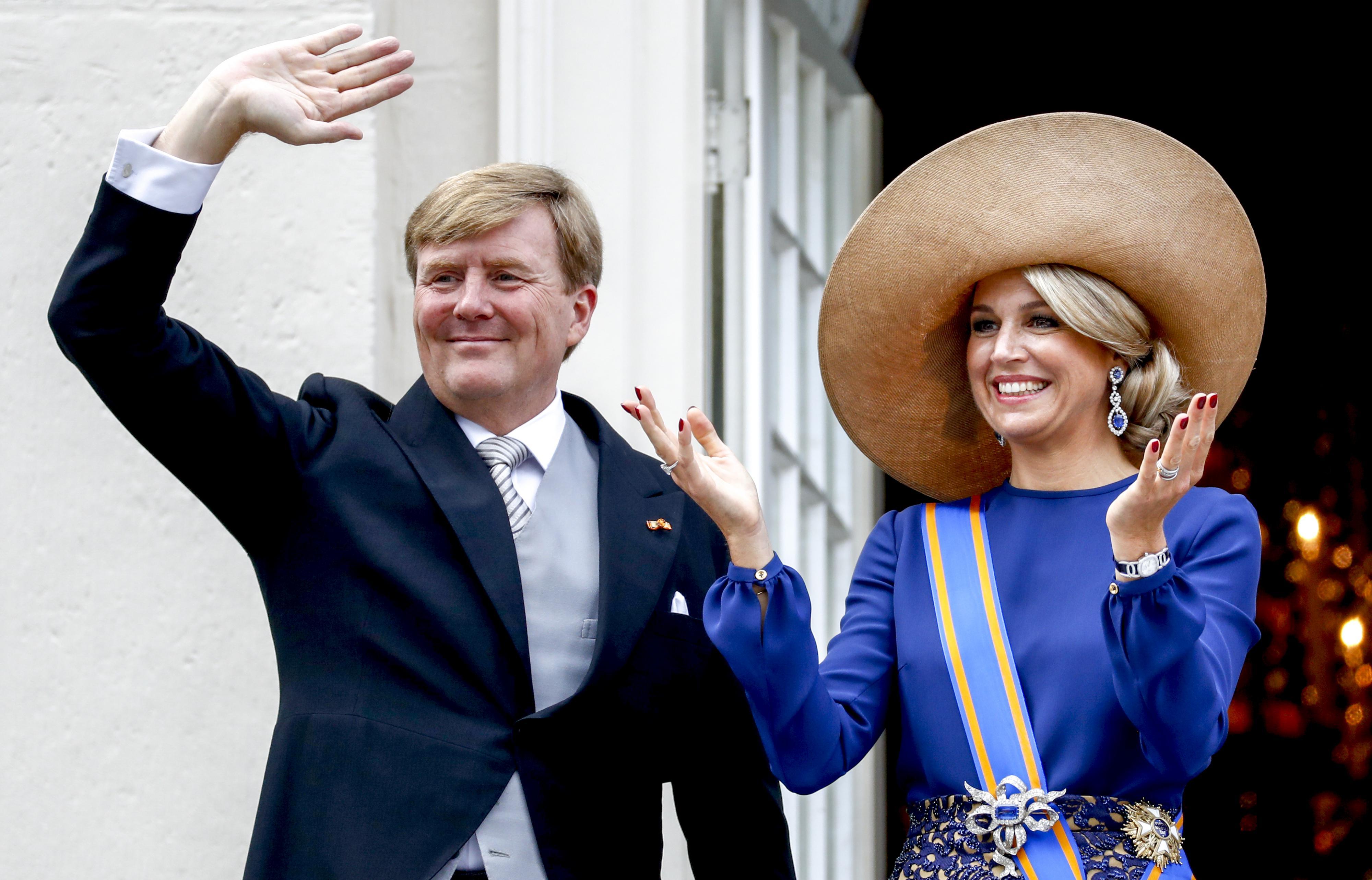 Koning Willem Alexander en Koningin Máxima. ANP