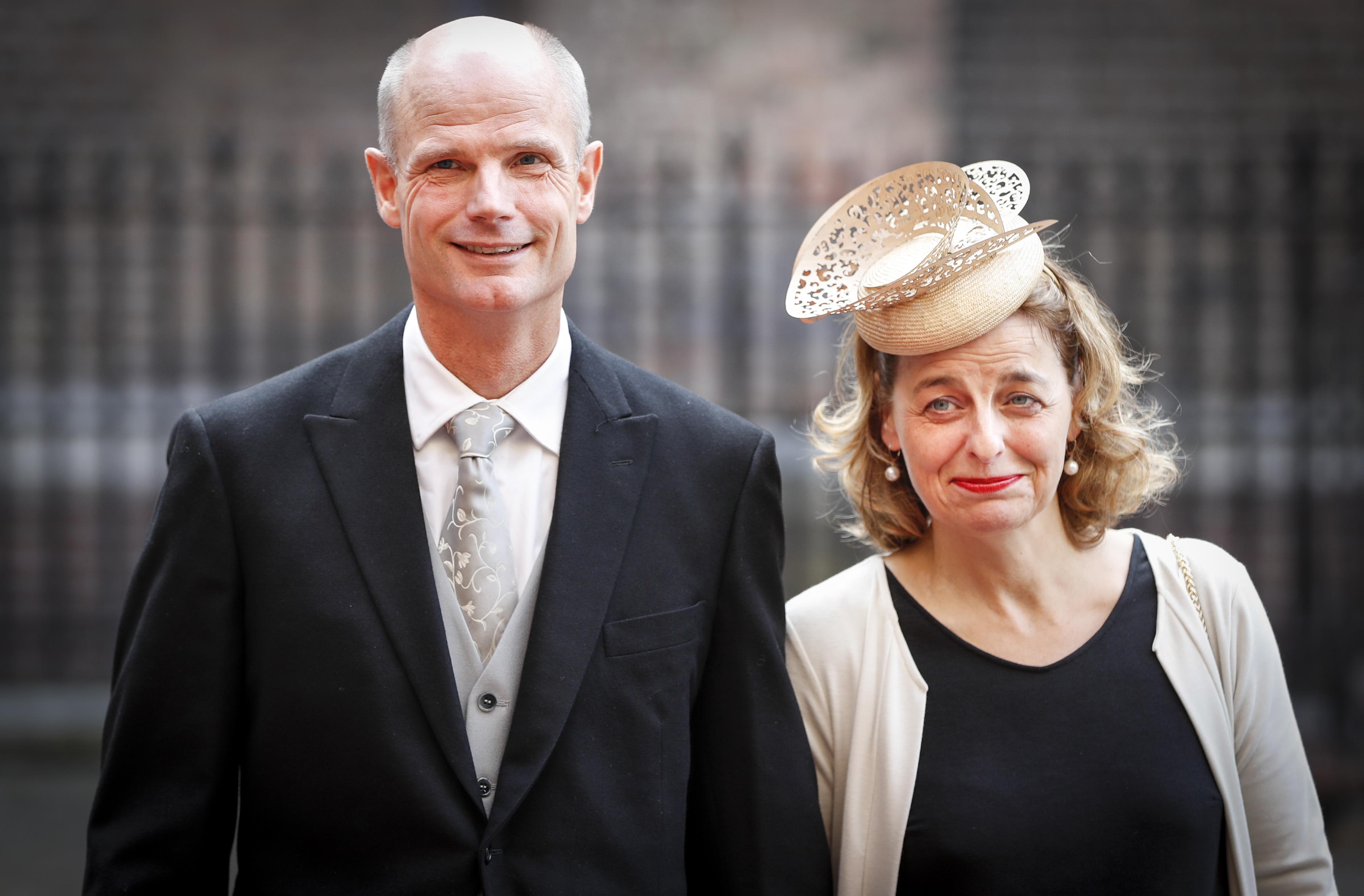 Stef Blok Minister voor Wonen en Rijksdienst arriveert bij de Ridderzaal op Prinsjesdag. ANP