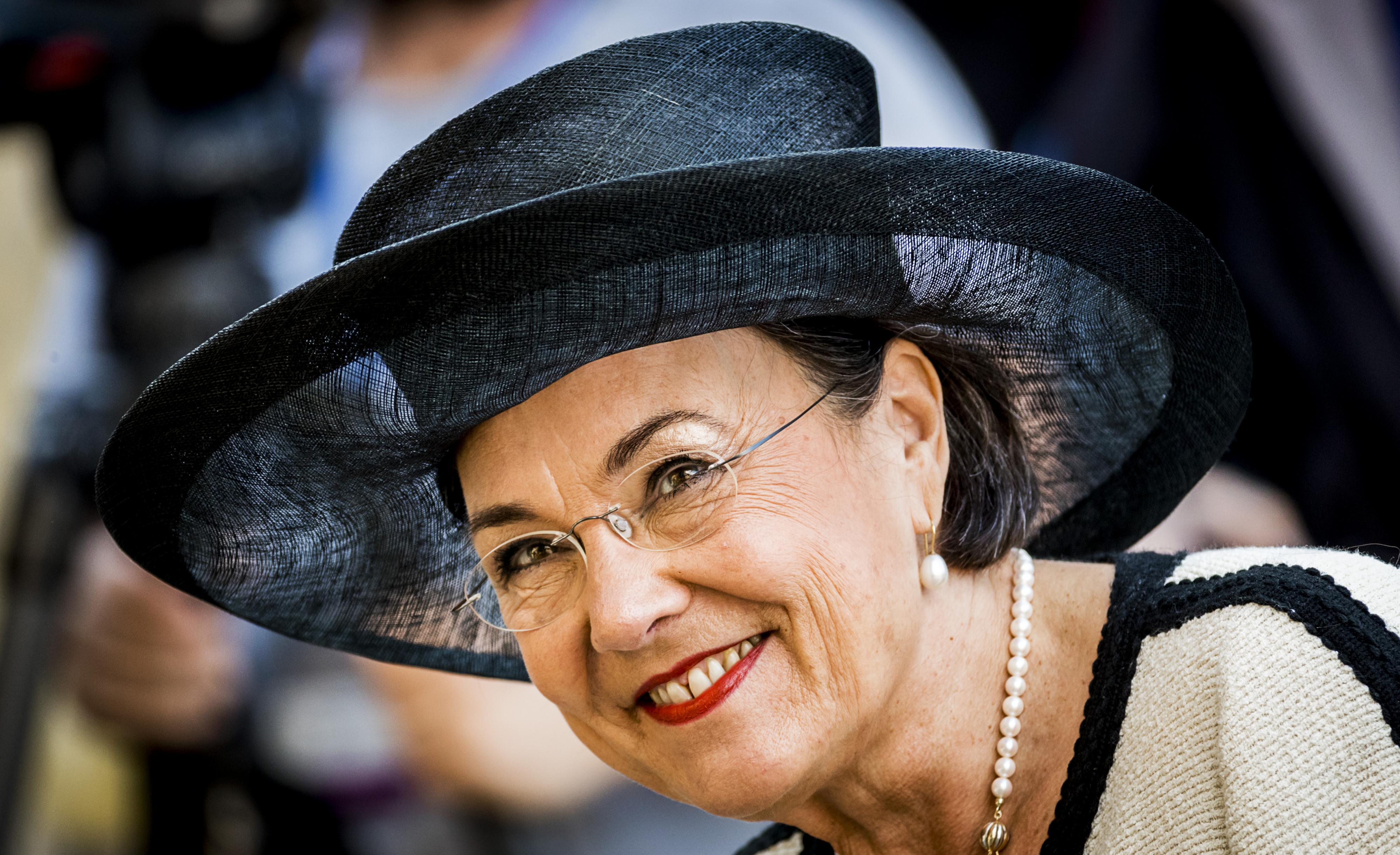 Gerdi Verbeet arriveert bij de Ridderzaal op Prinsjesdag. ANP