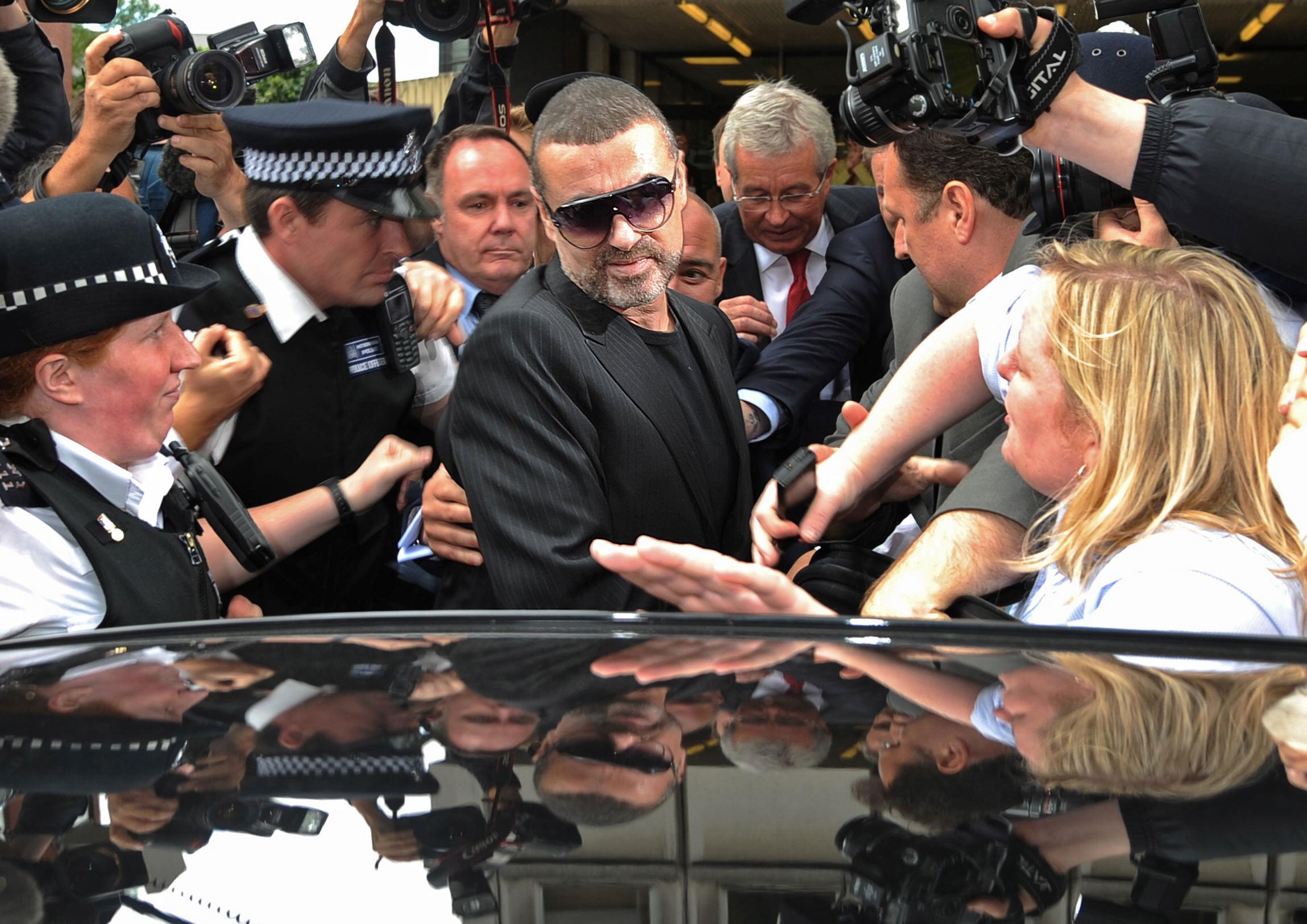 George Michael: grote successen, roerig privéleven