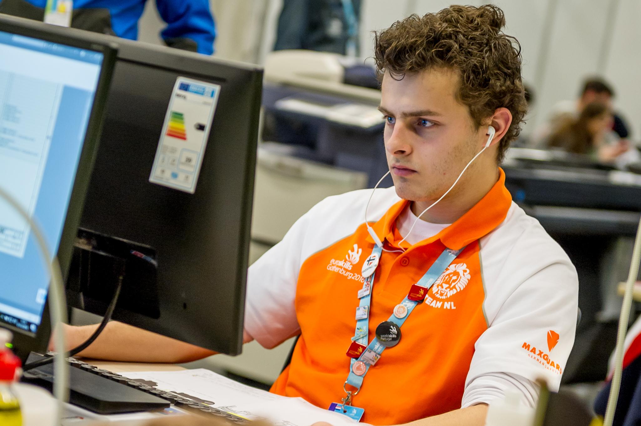 EuroSkills: 3 keer goud Nederlandse vaktalenten