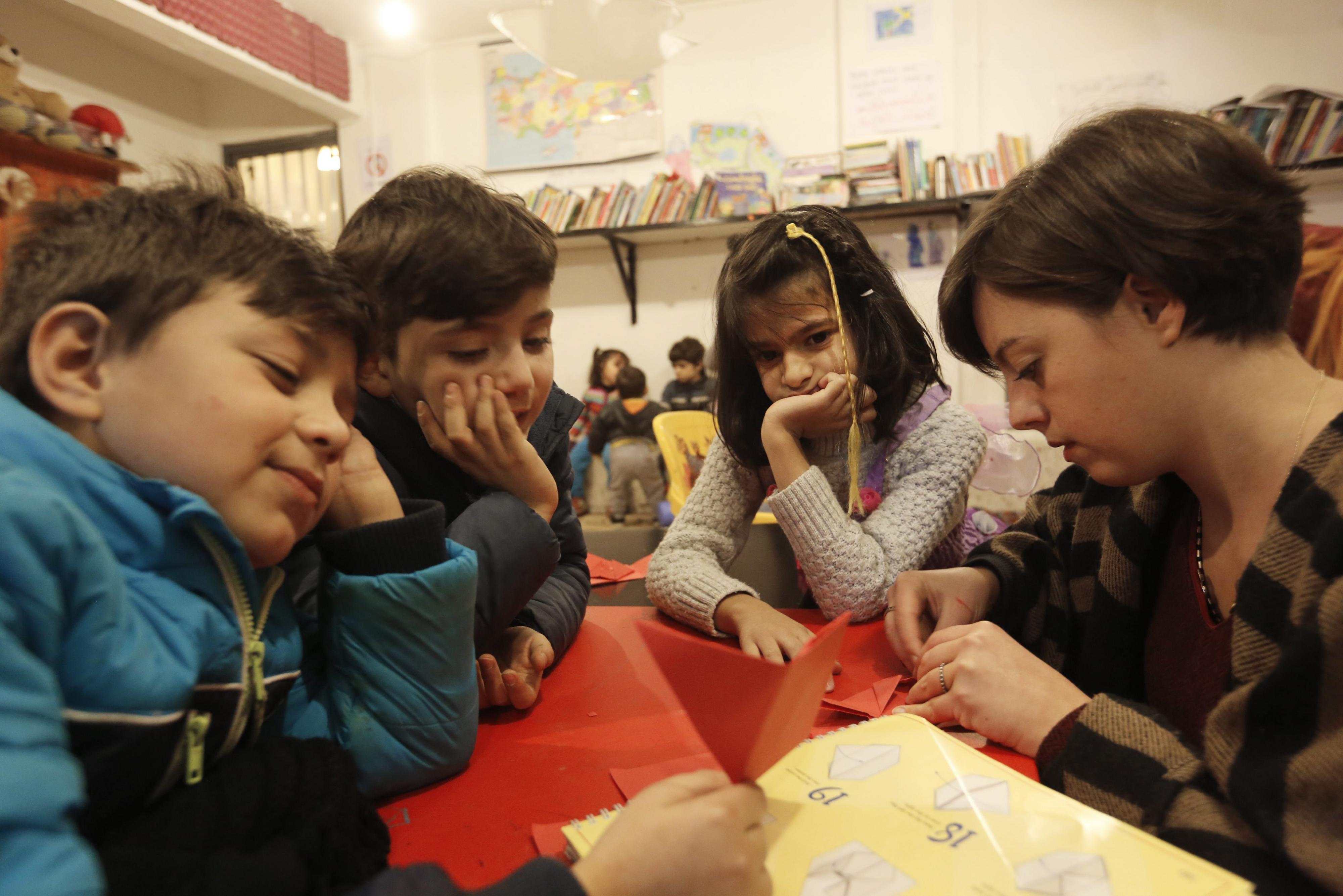 Vluchtelingenkinderen in Turkije