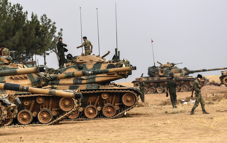 Turkse troepen in Syrië