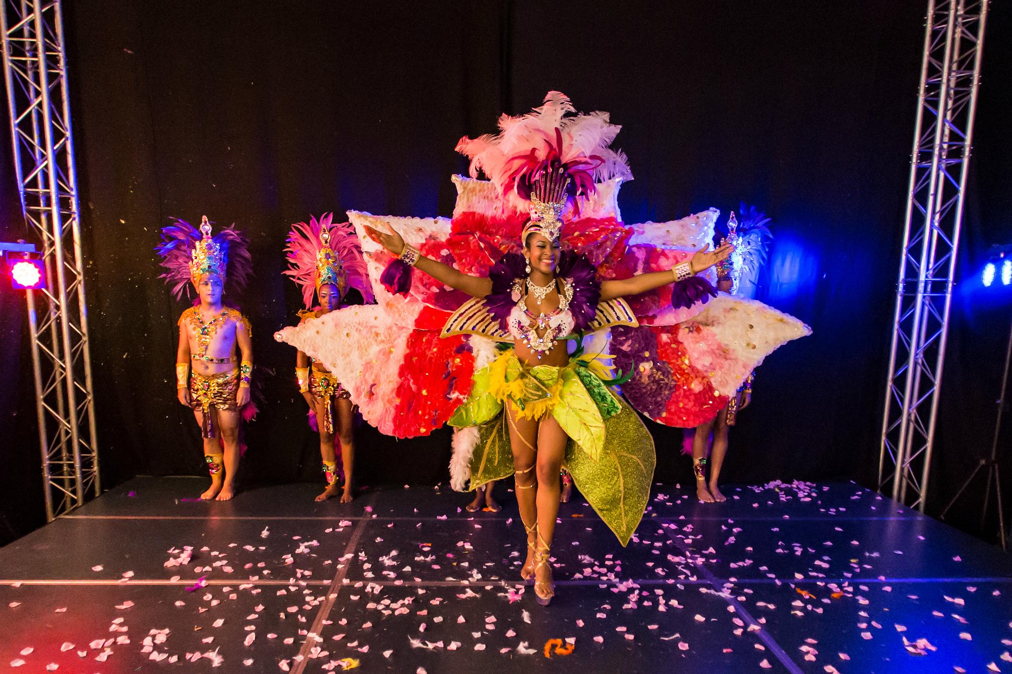 Amsterdamse Geneitha carnavalsqueen van Rotterdam