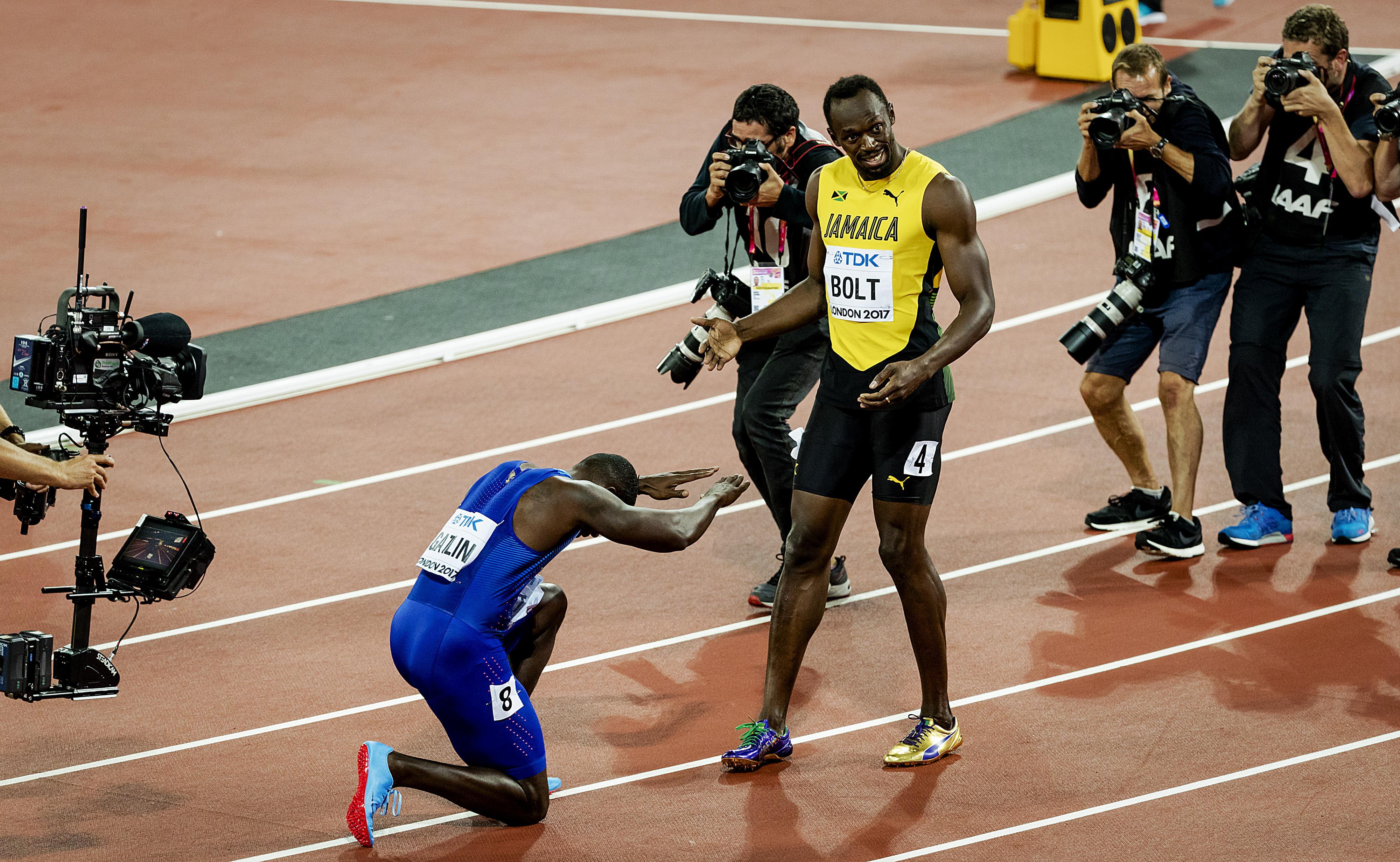 Usain Bolt: Respect voor Gatlin graag