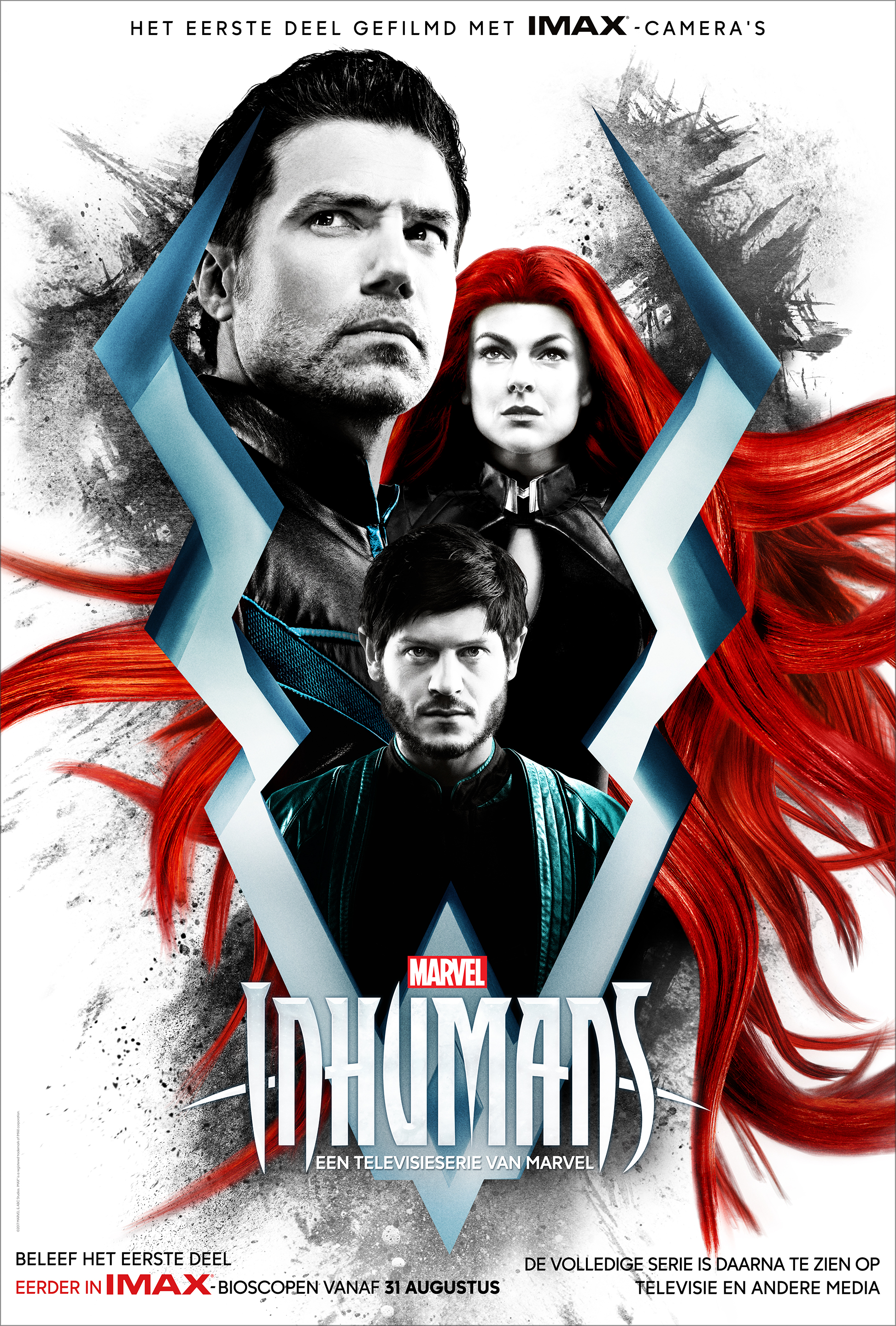 Roel, plotselinge superster door Marvels Inhumans