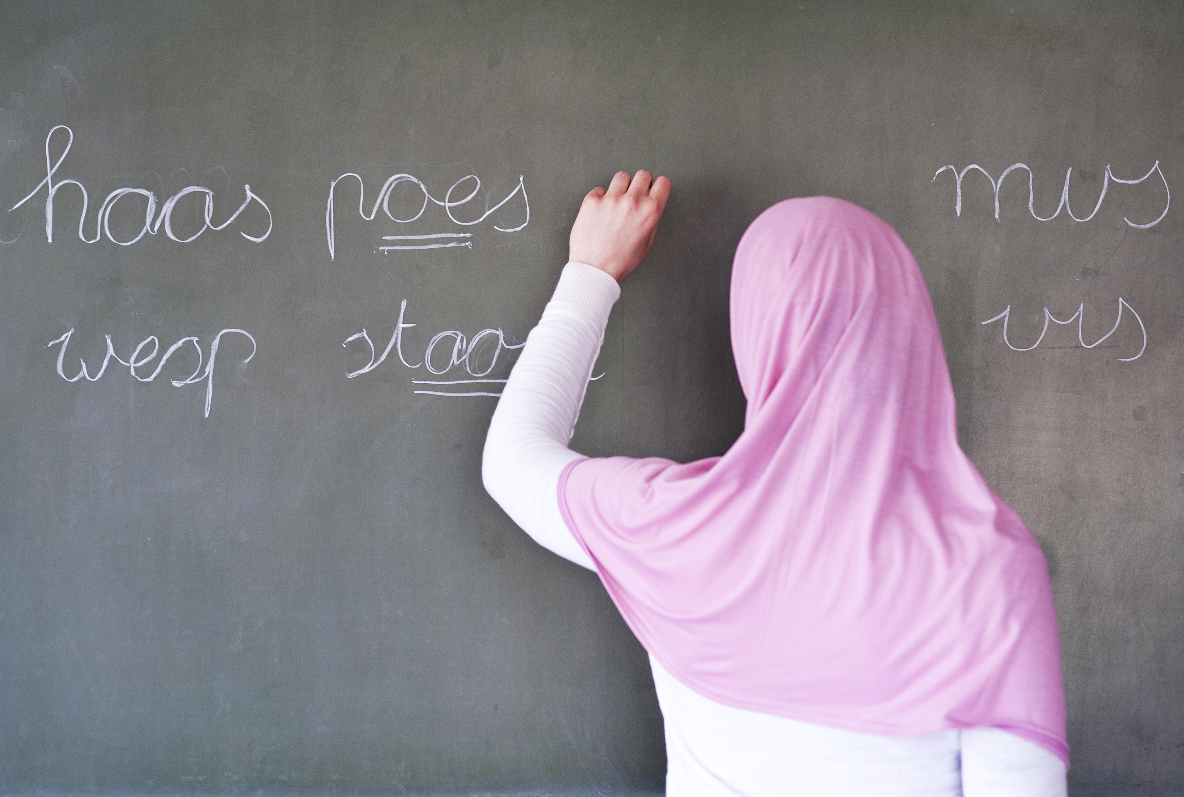 Het inburgeringsexamen bestaat uit verschillende onderdelen. Foto: ANP