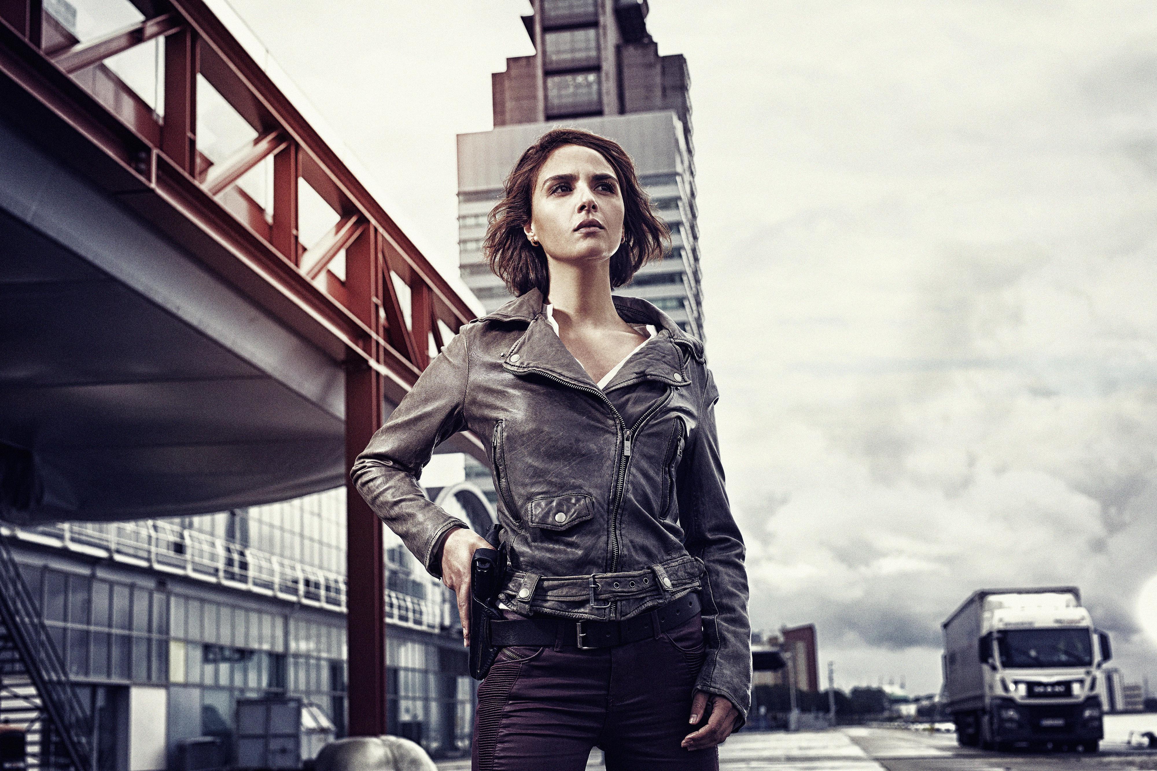 Amsterdamse acteurs genieten van (Flikken) Rotterdam