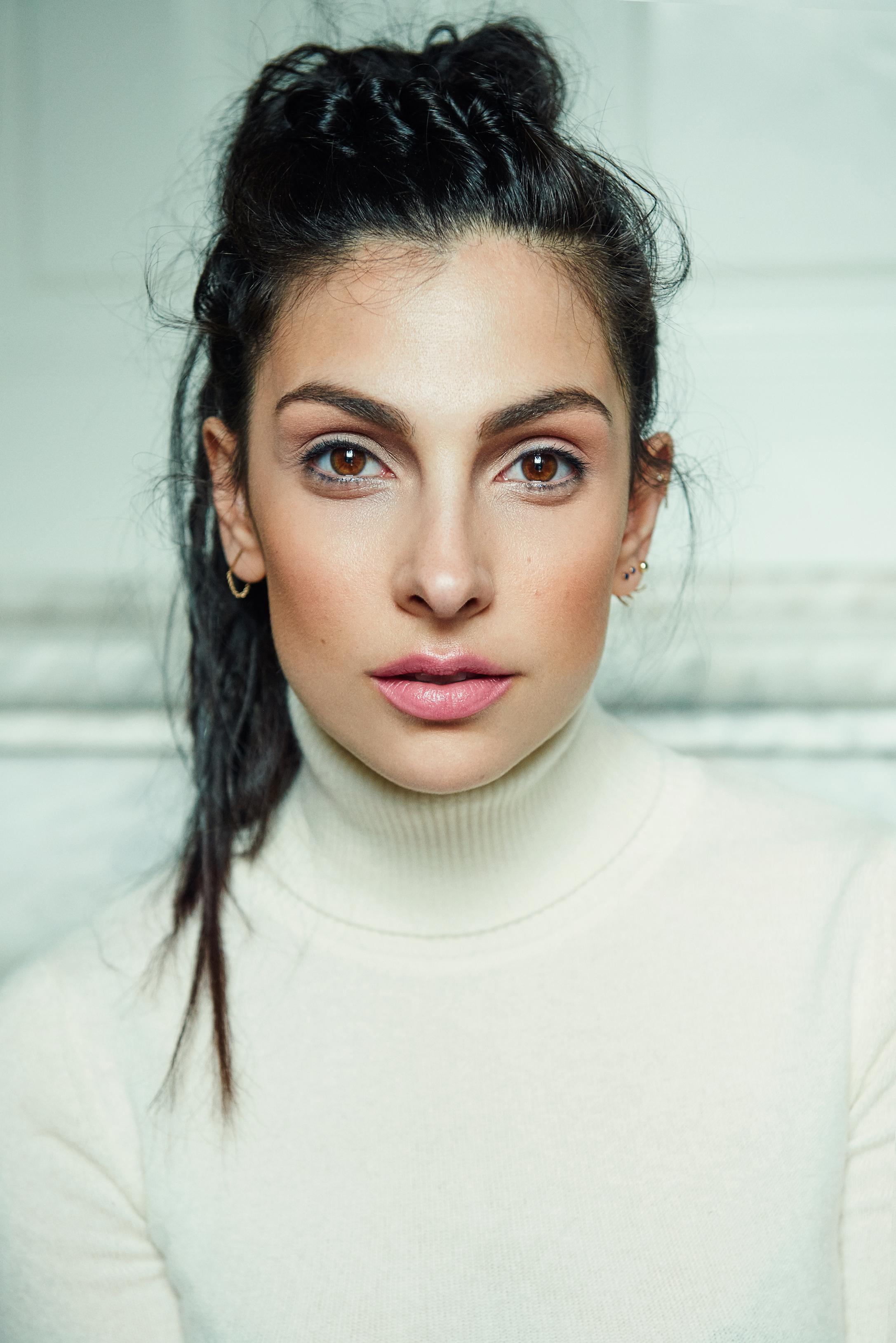 Mannen én Anna Nooshin  in Holland's Next Topmodel