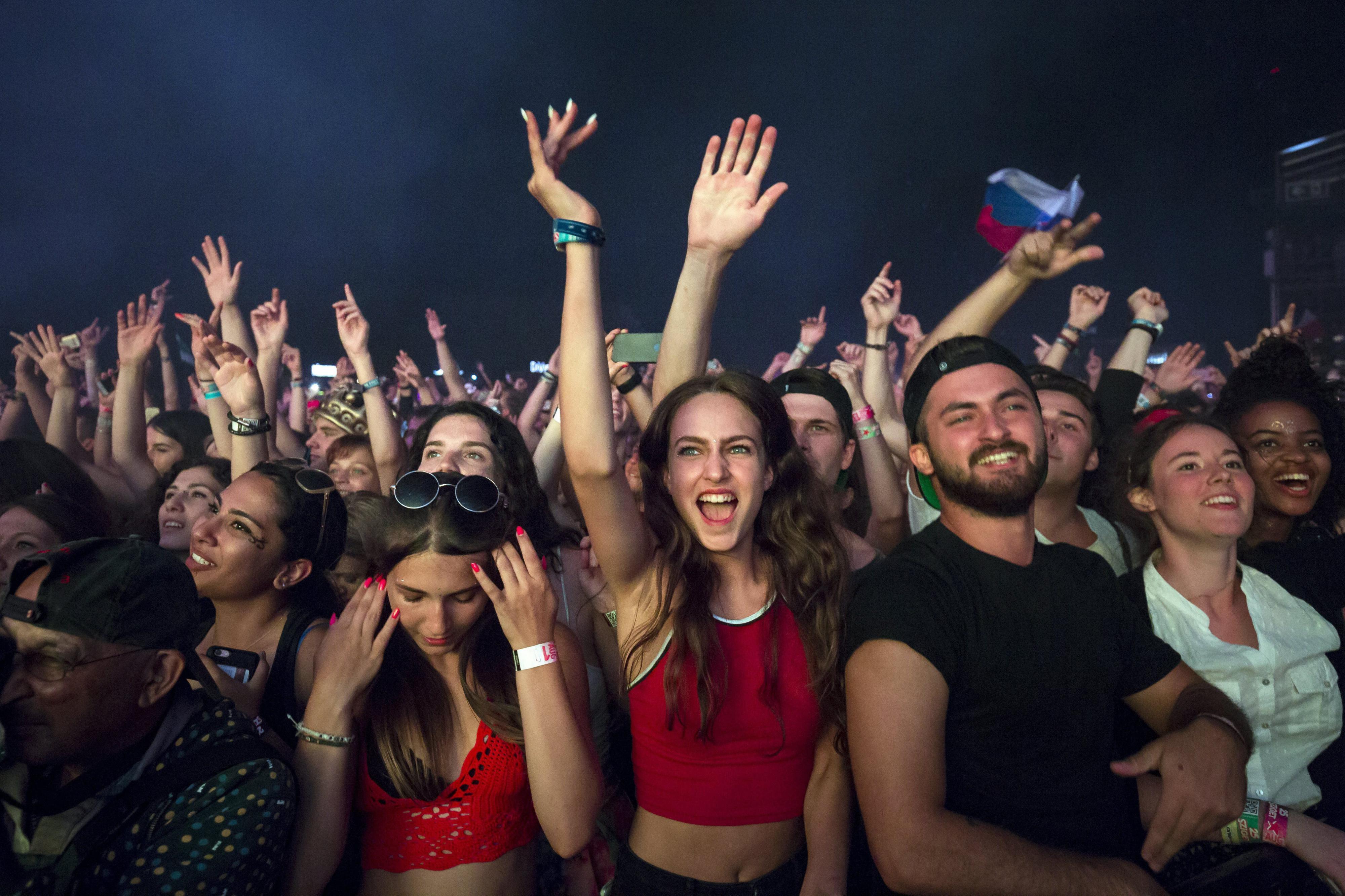 'Nooit meer met de trein naar festival Sziget'