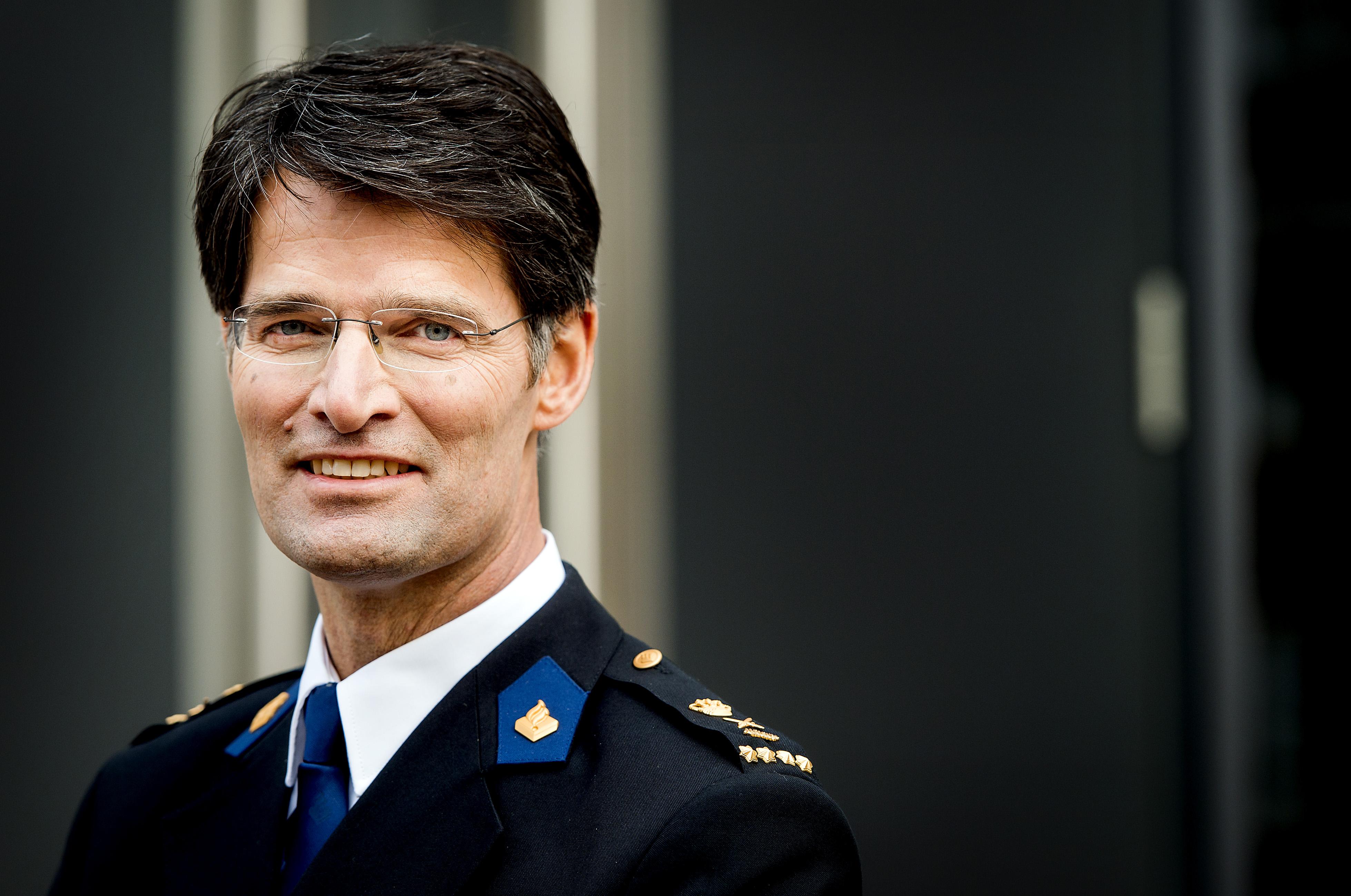 Portret van Erik Akerboom, korpschef van de Nationale Politie. Foto: ANP / Koen van Weel