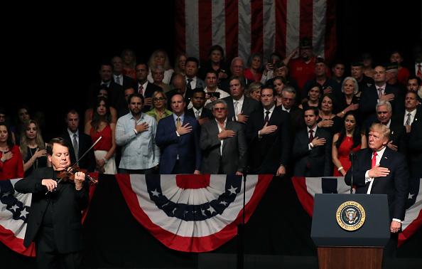 Amerikaanse vlag: nationaal symbool van verdeeldheid