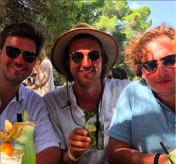 Max op Ibiza | Foto: Instagram @zeilbootannemarie