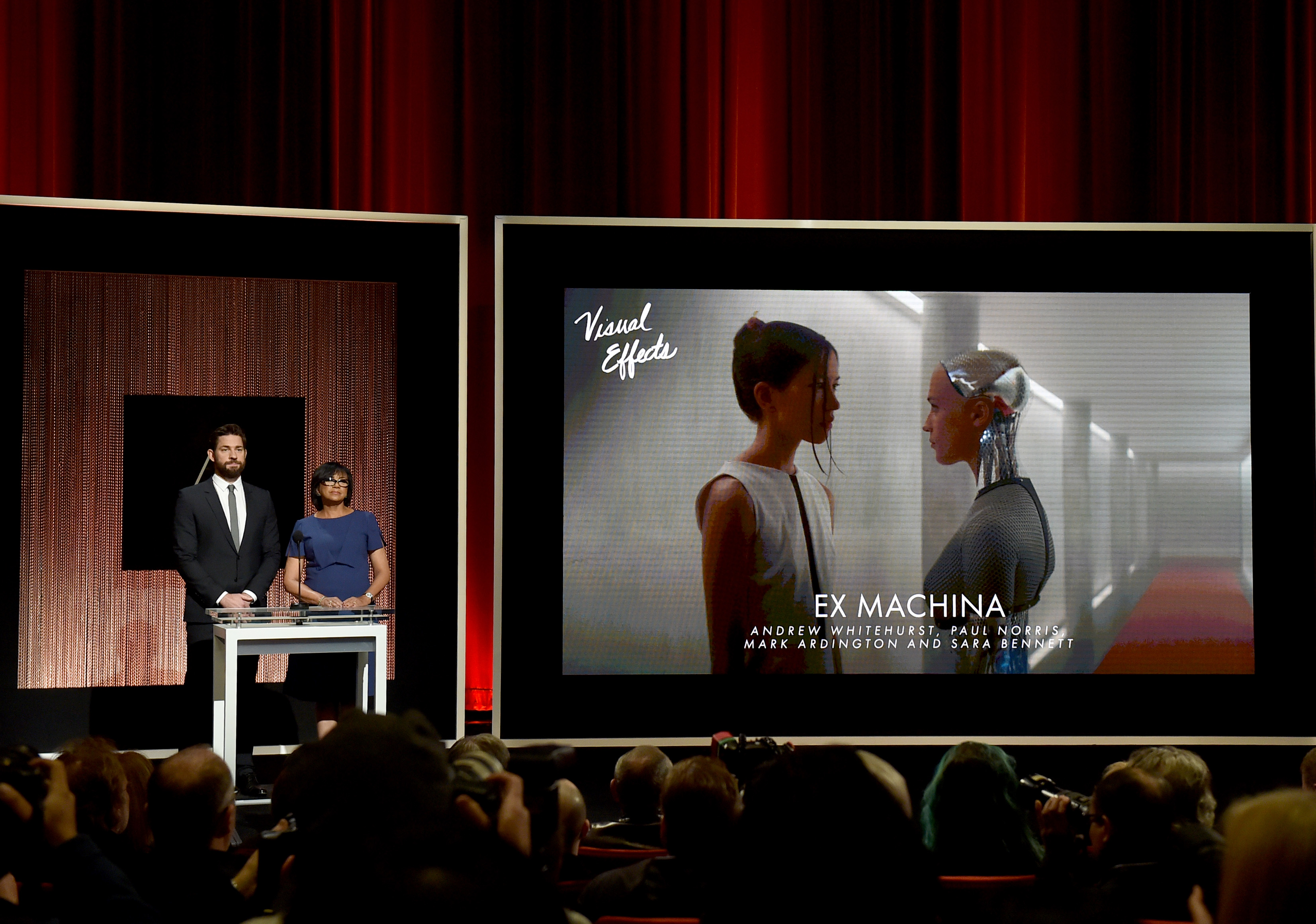 De film Ex Machina sleepte een Oscar in de wacht vanwege de prachtige visuele effecten. / Foto: Kevin Winter | Getty Images