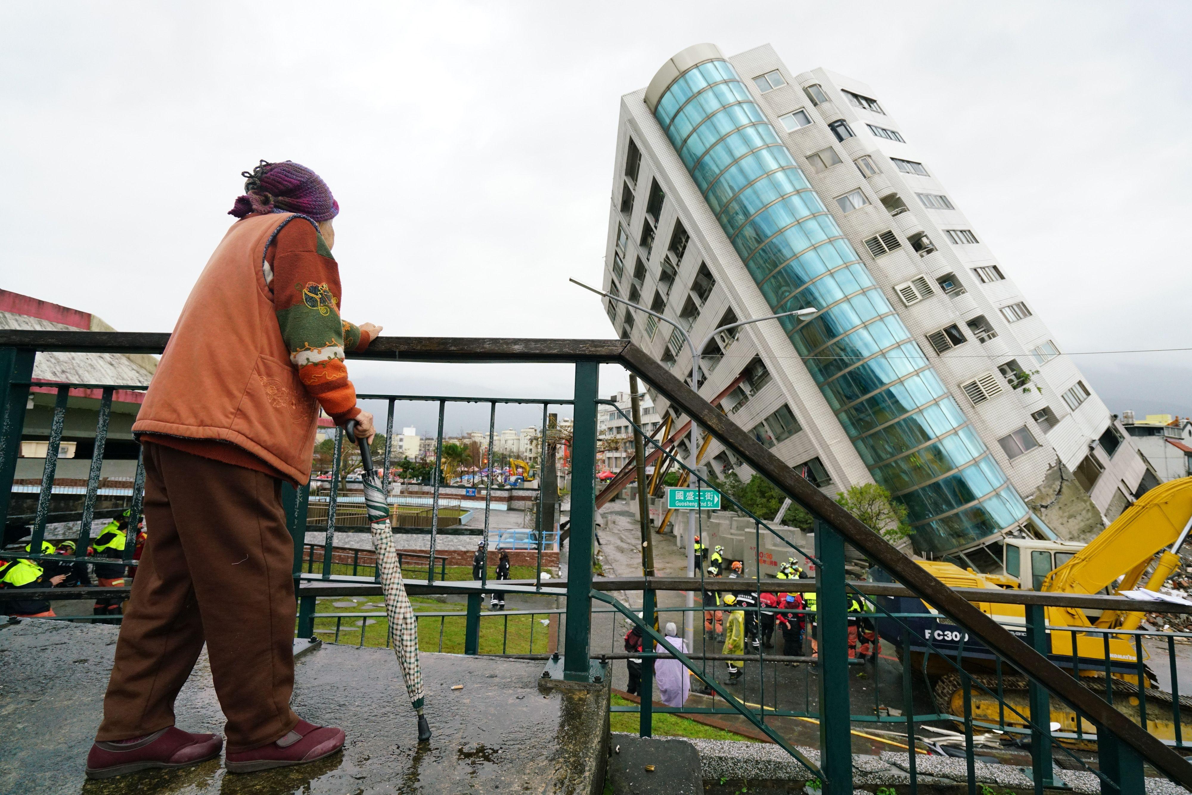 Aardbevingen Taiwan: 10 doden en honderden gewonden