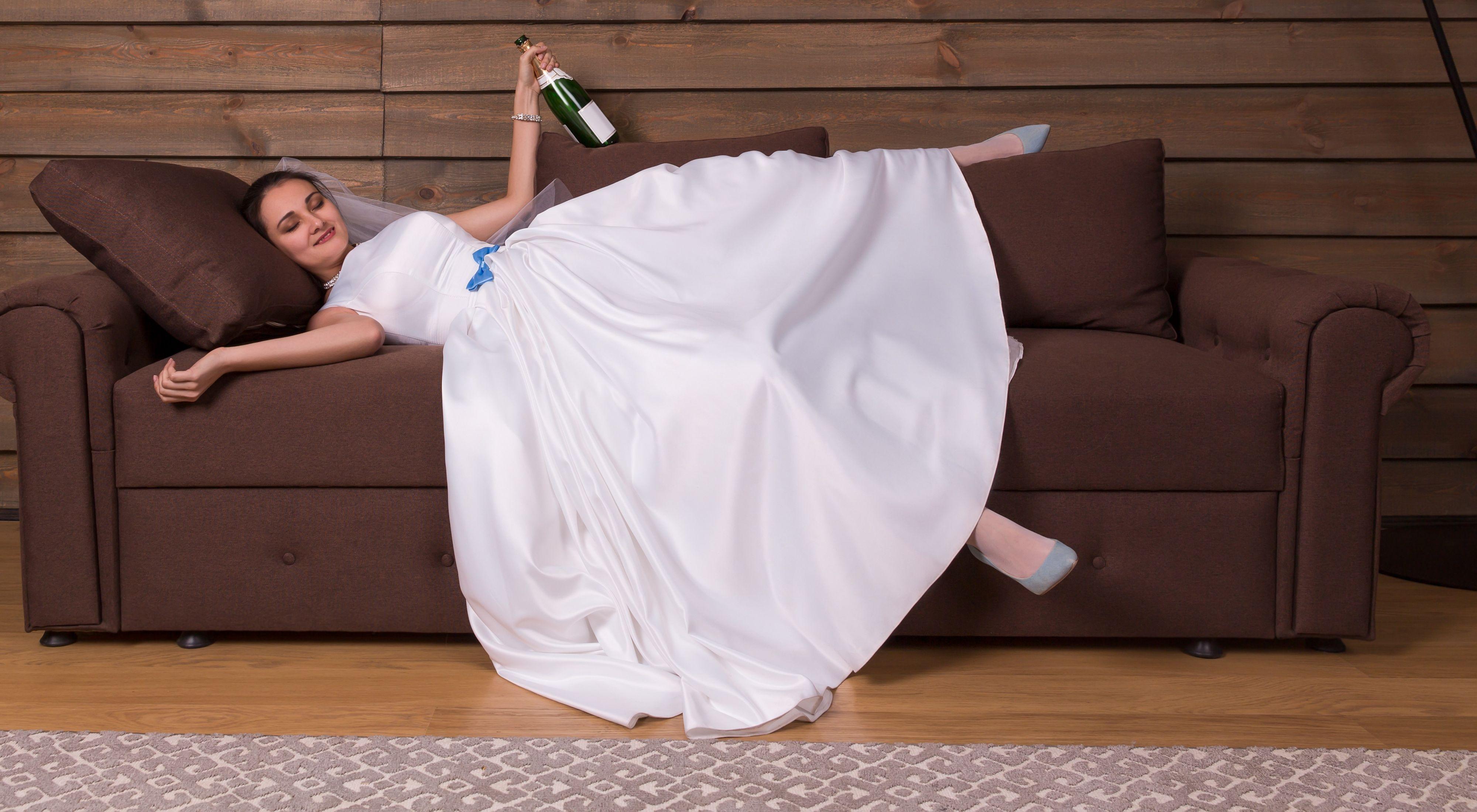 Dronken vrouw opgepakt op weg naar eigen bruiloft