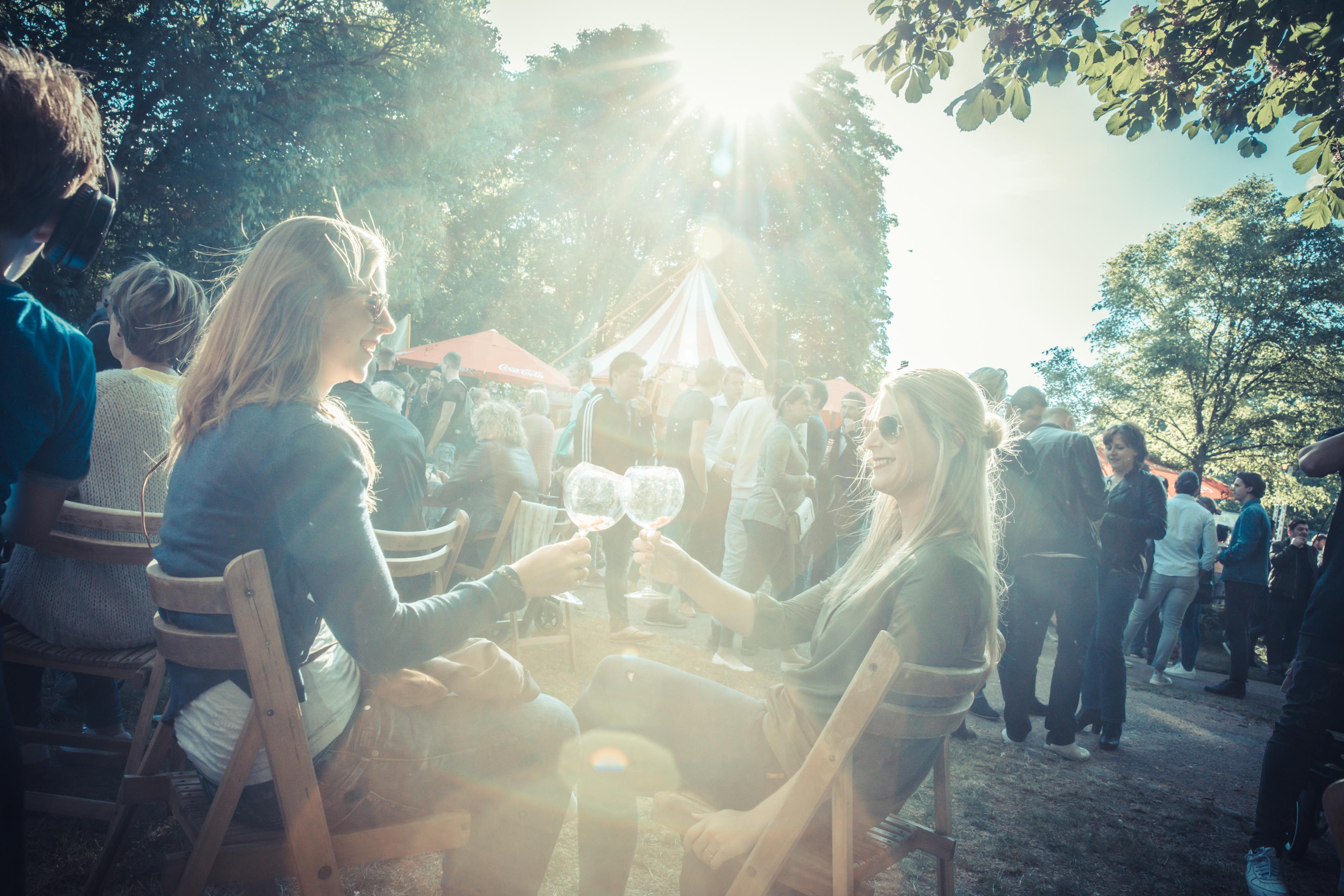De wereld achter een foodfestival