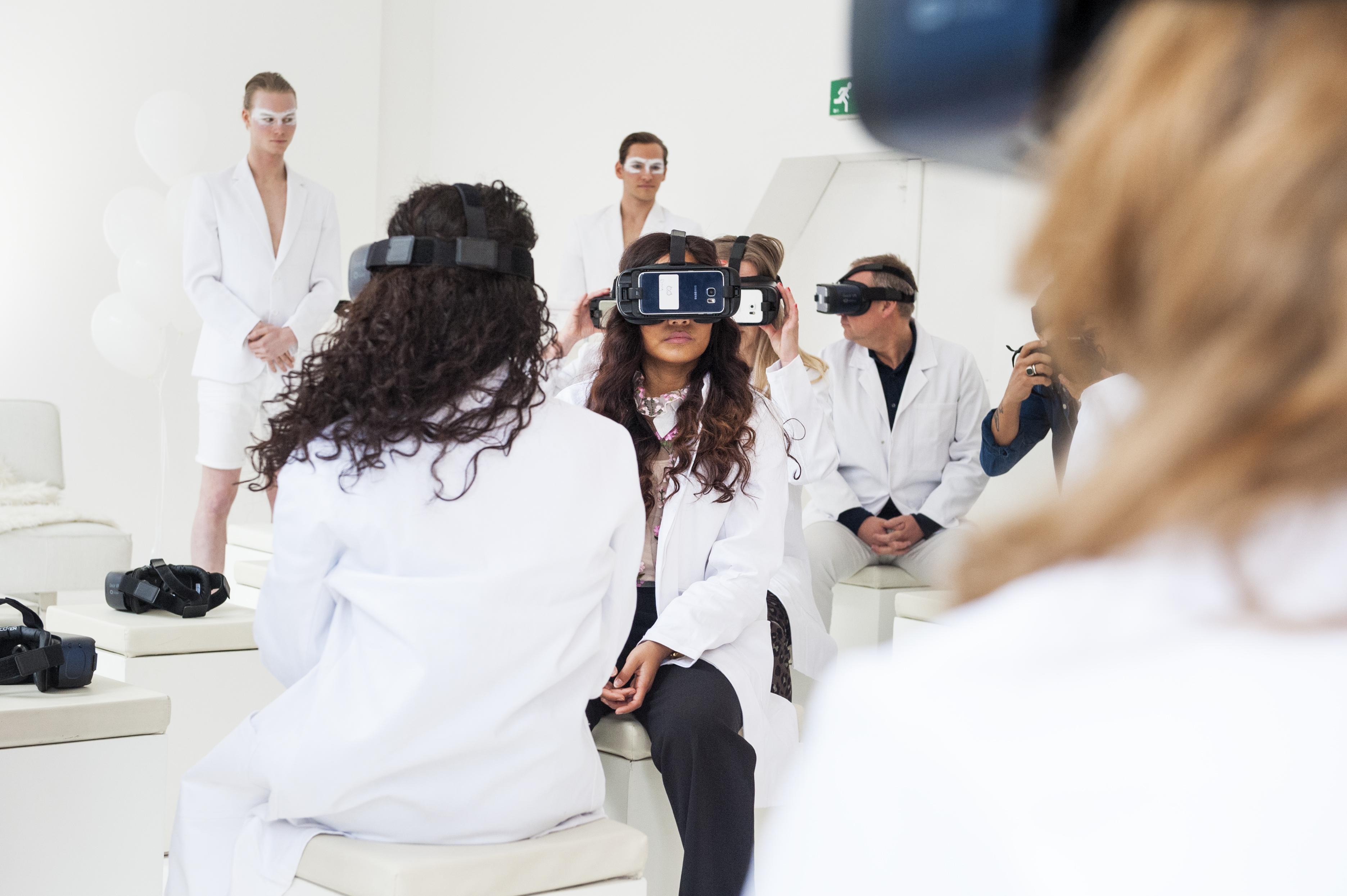 VR-streamen kan ook met een knipoog en stijl