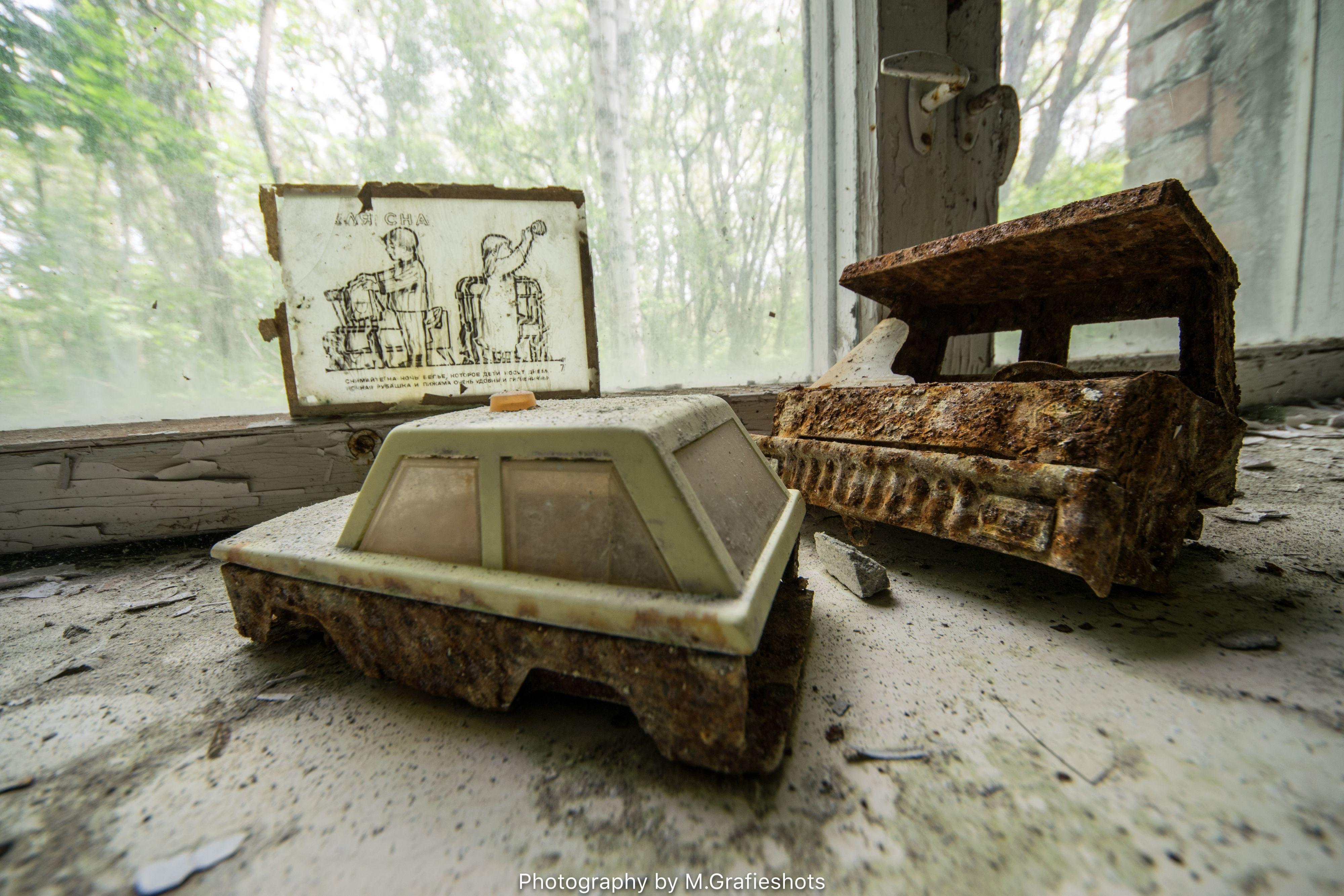 23-jarige Nederlander verkent omgeving Tsjernobyl