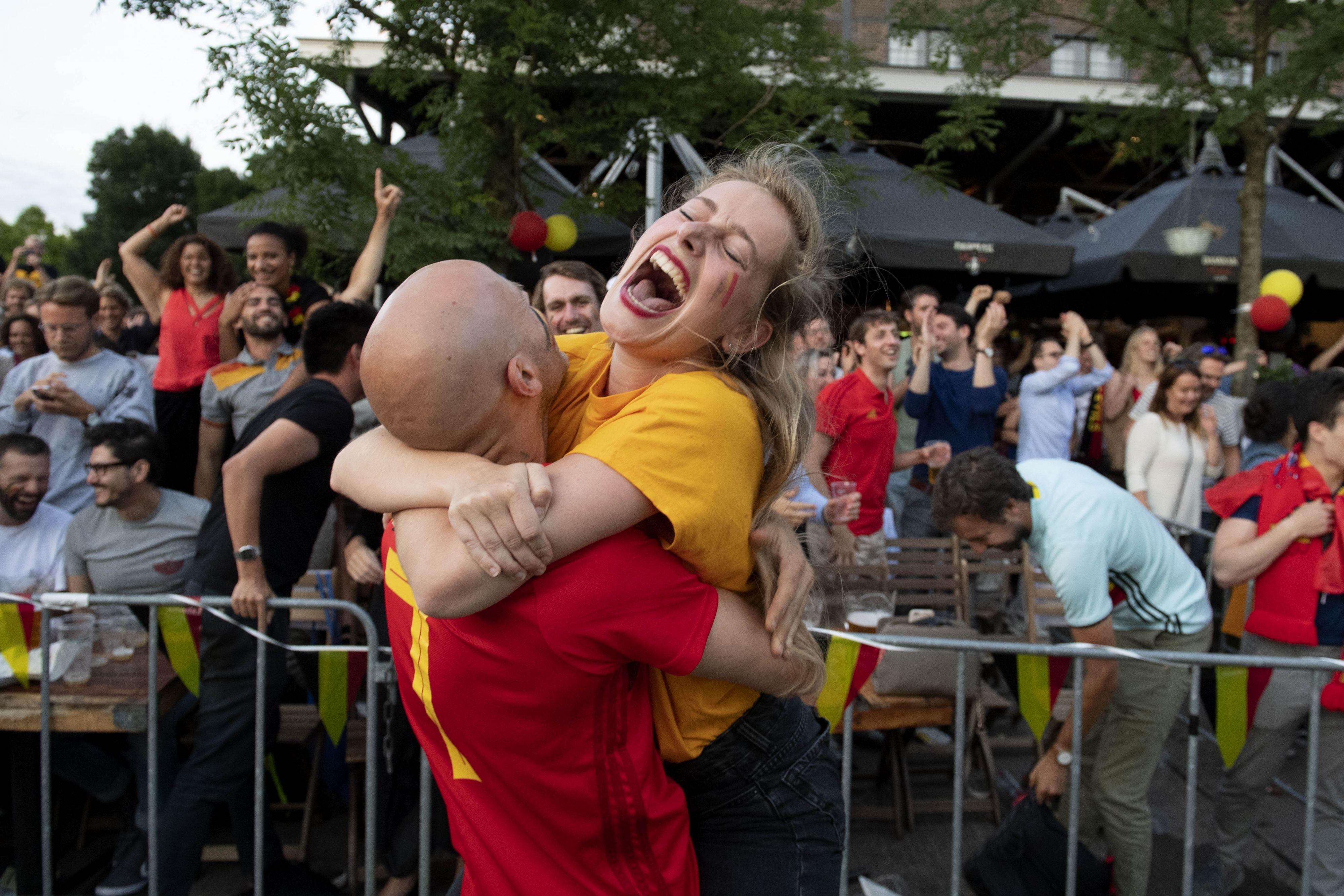 Rode duivels in halve finale WK