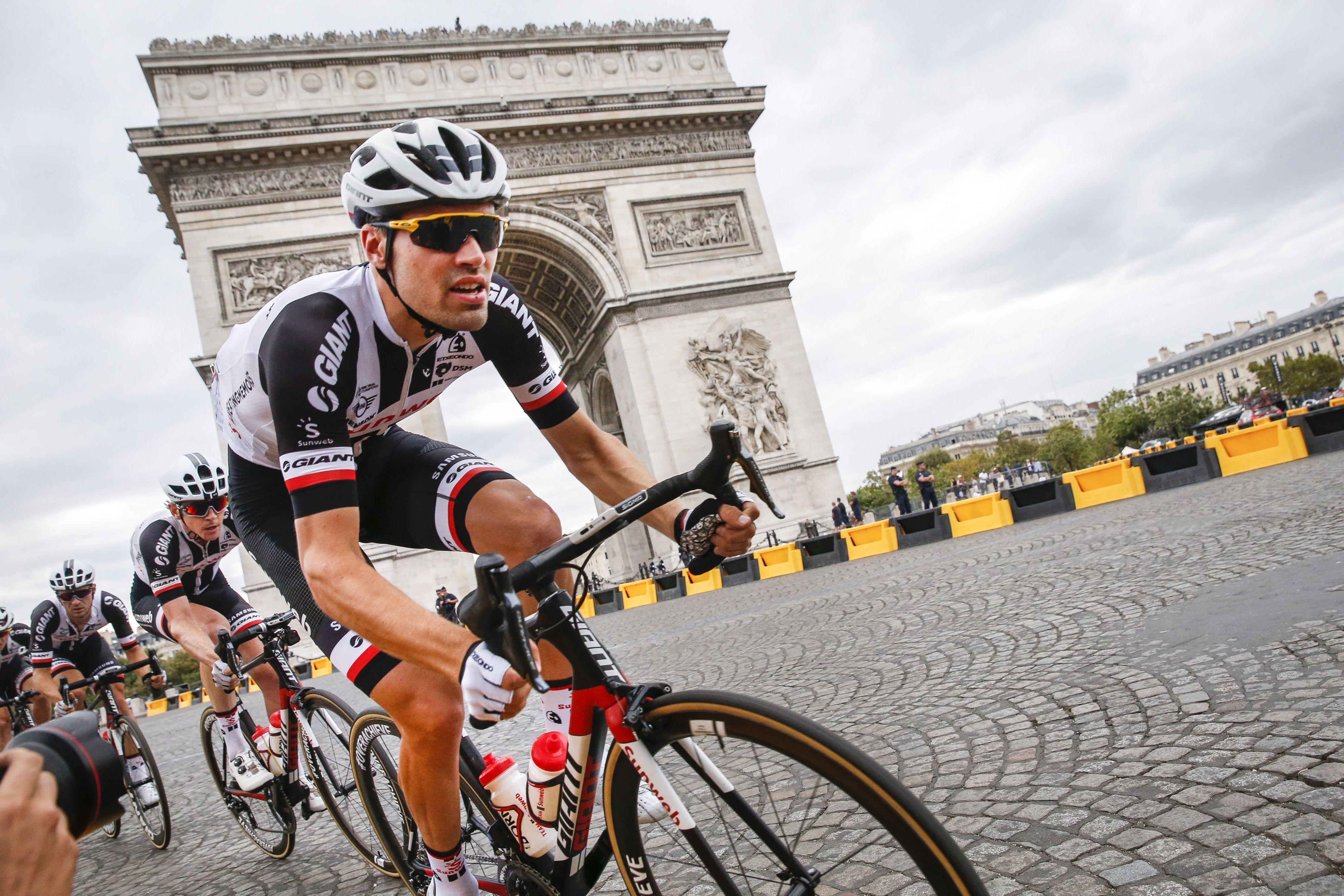 Brit Geraint Thomas wint tour, Dumoulin tweede