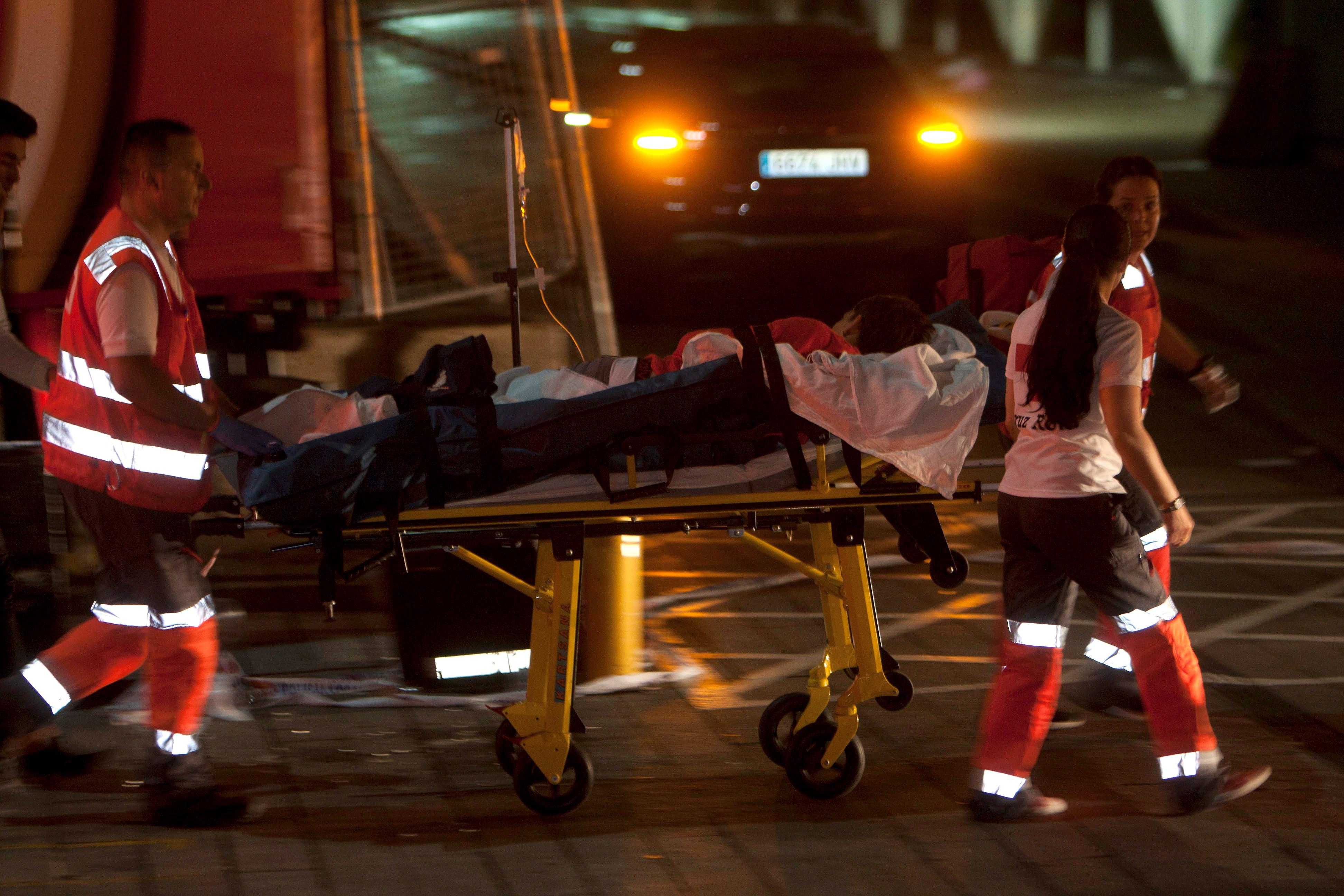 Podium stort in op Spaans festival: 300 gewonden
