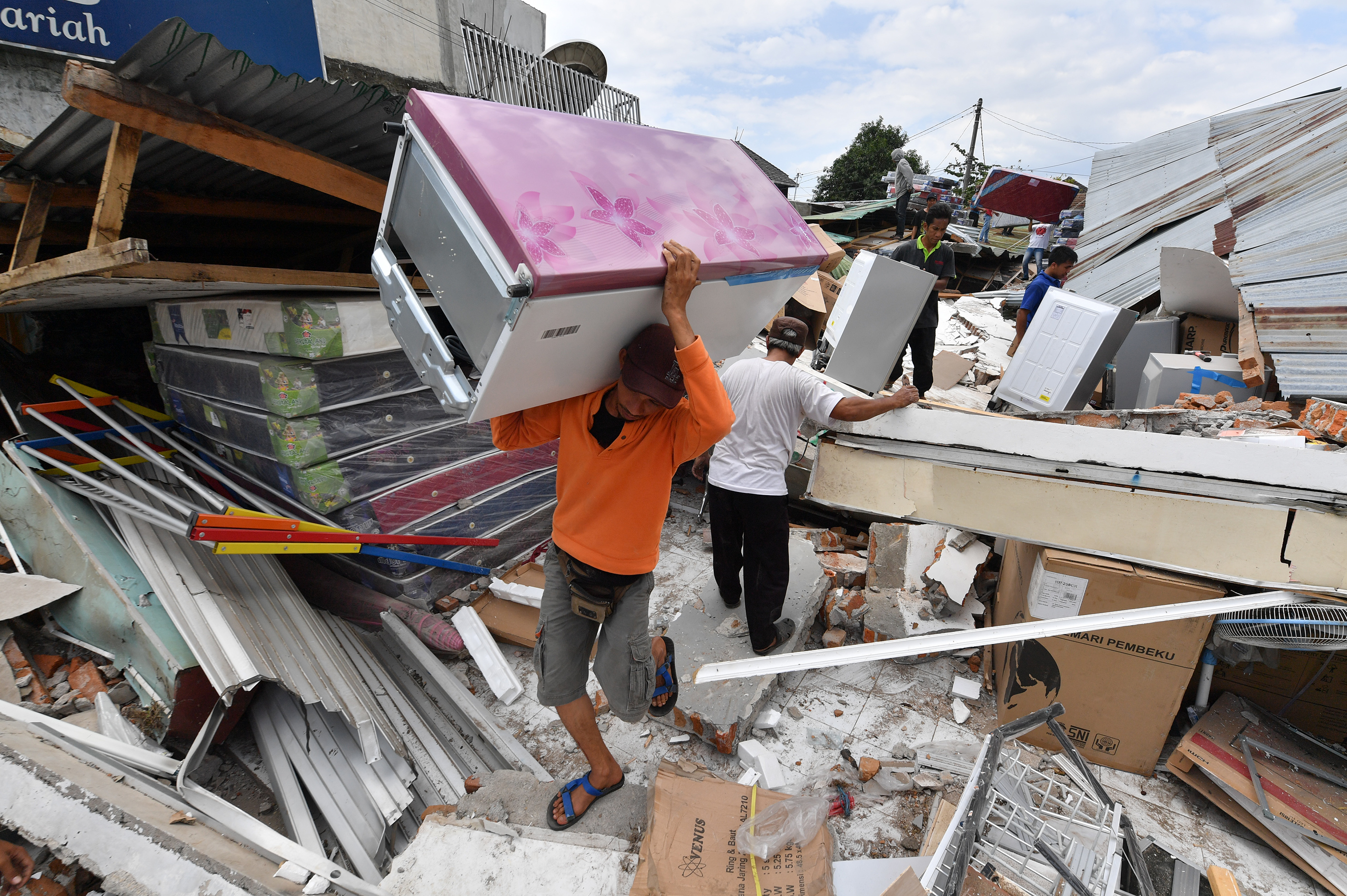 'De bevingen op Bali zijn hier business as usual'