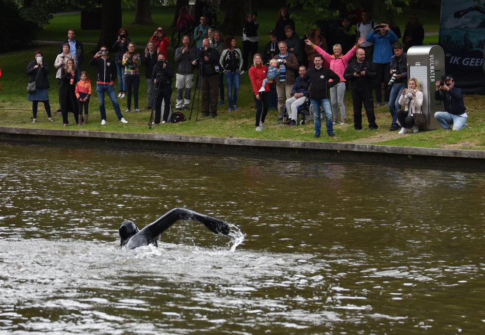 Giga zwemtocht start zaterdag 'zwemmen is niet leuk'