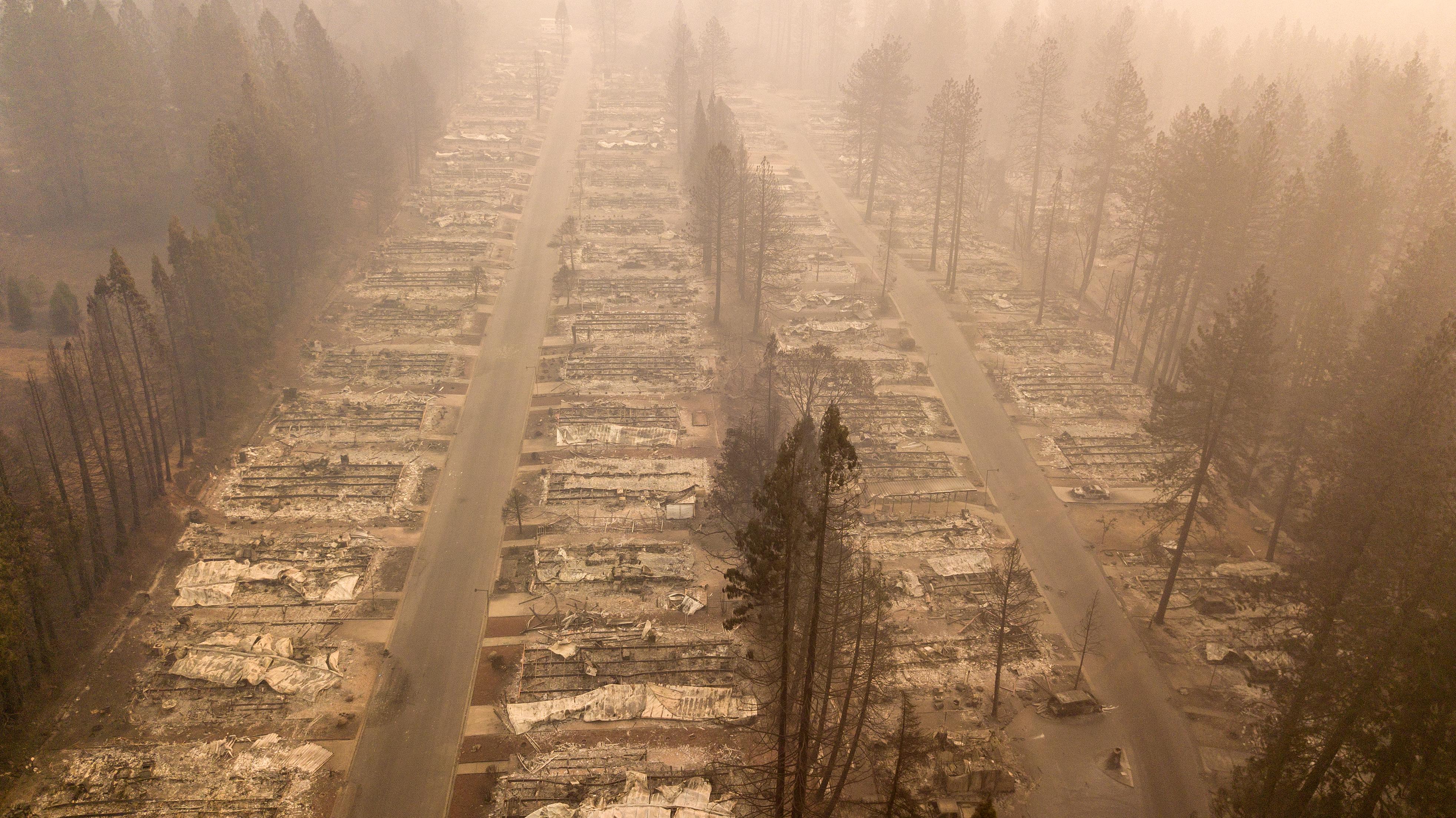 Kans op honderden doden in bosbranden Californië