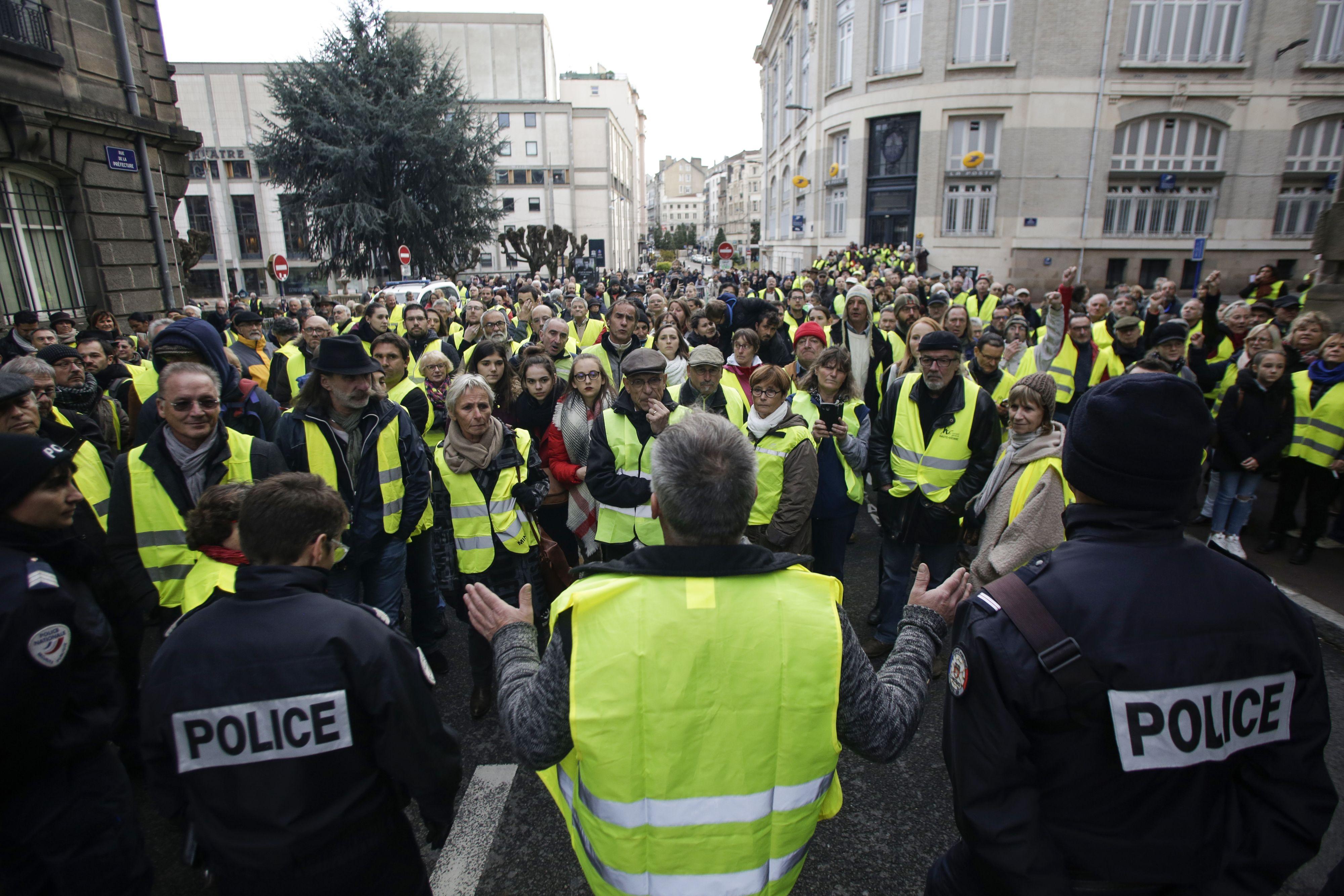 Weer Gele Hesjes-protesten in Nederland