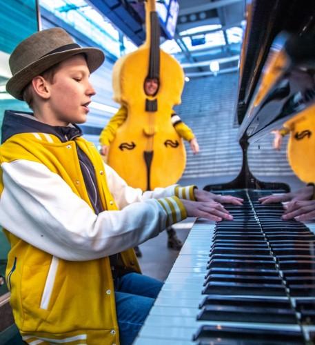 Recordpoging stationspiano's bespelen tegen diabetes