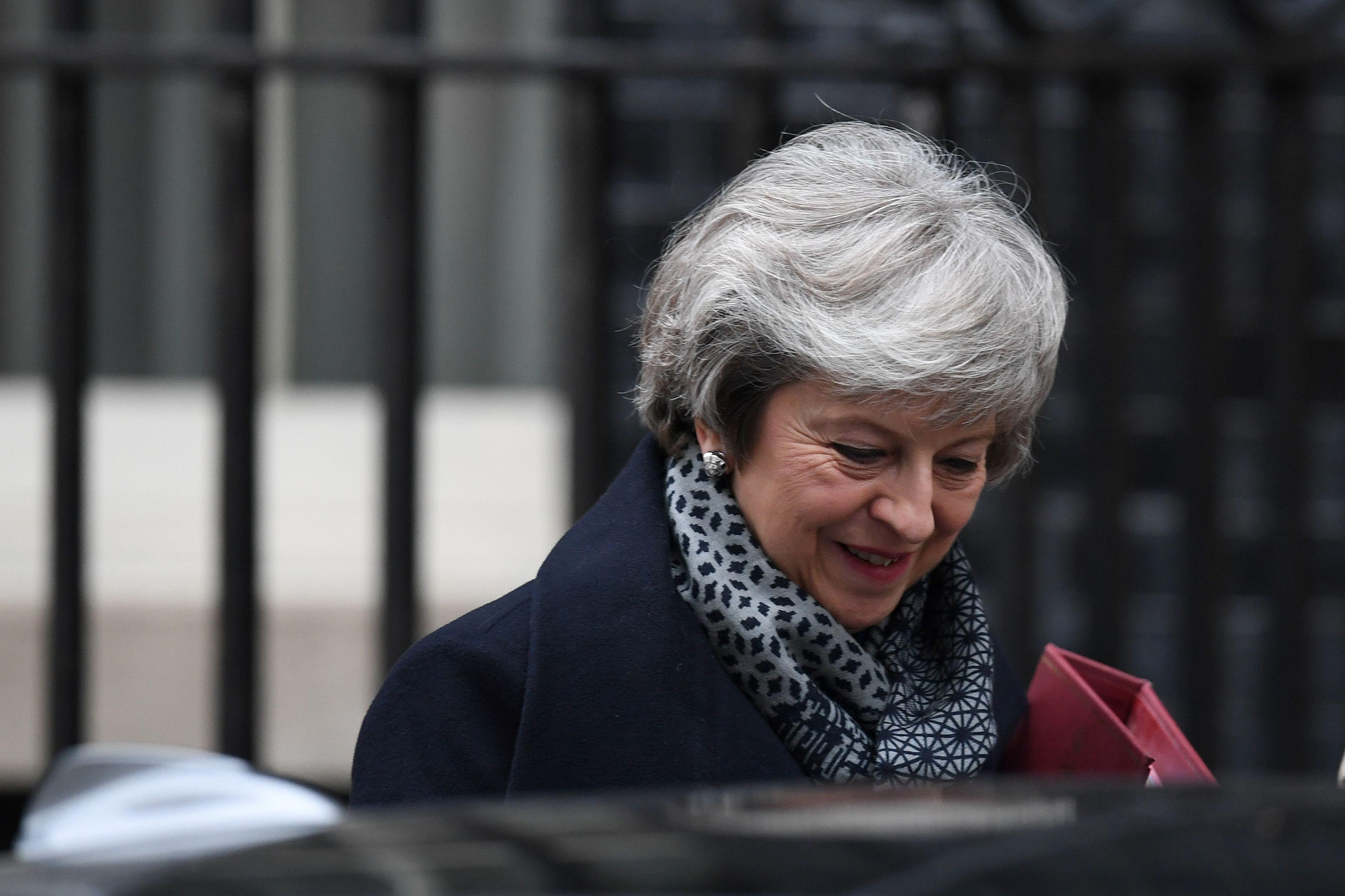Theresa May. Foto: ANP