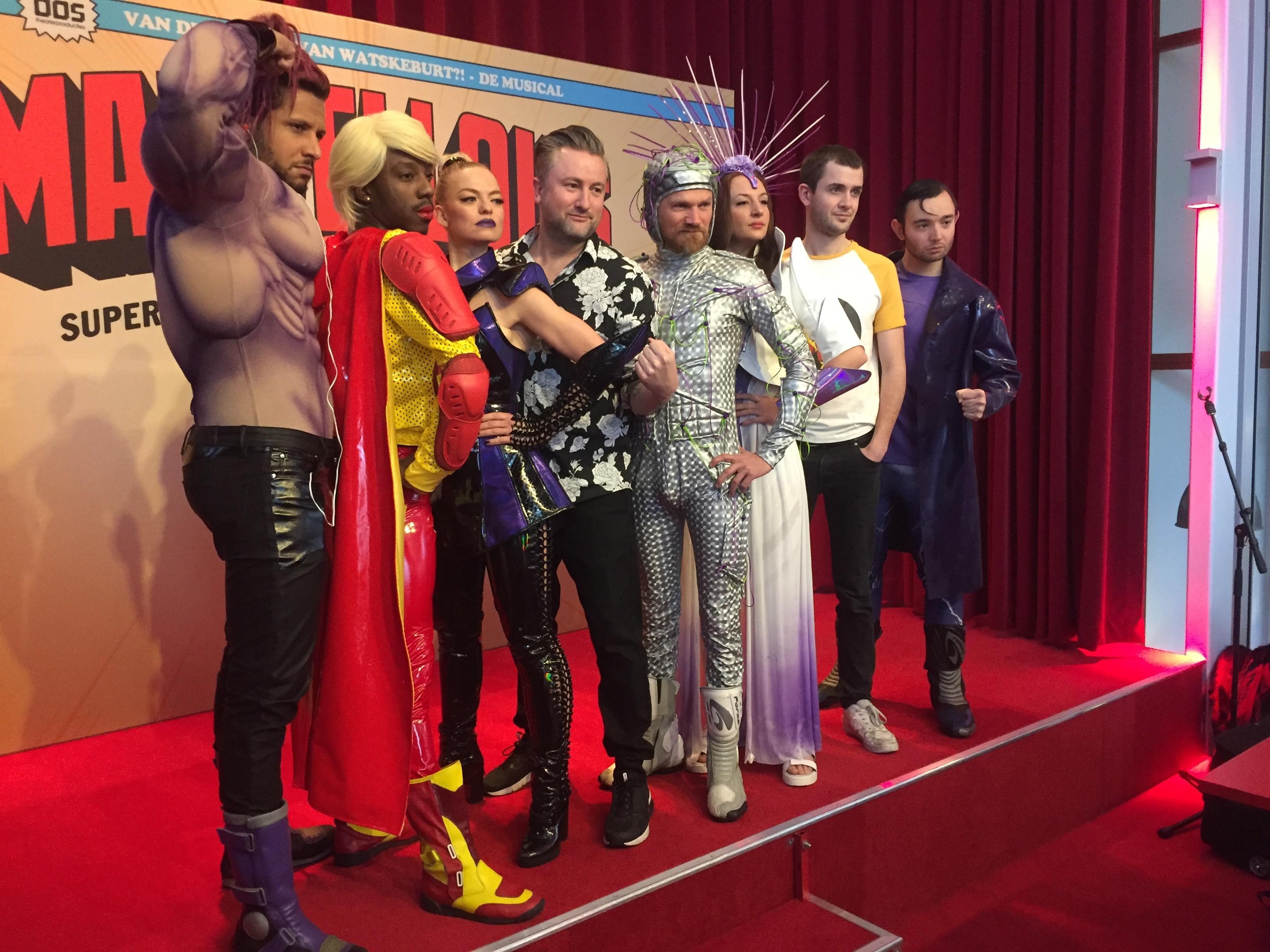 Superheldenmusical en een zaal vol Metrolezers