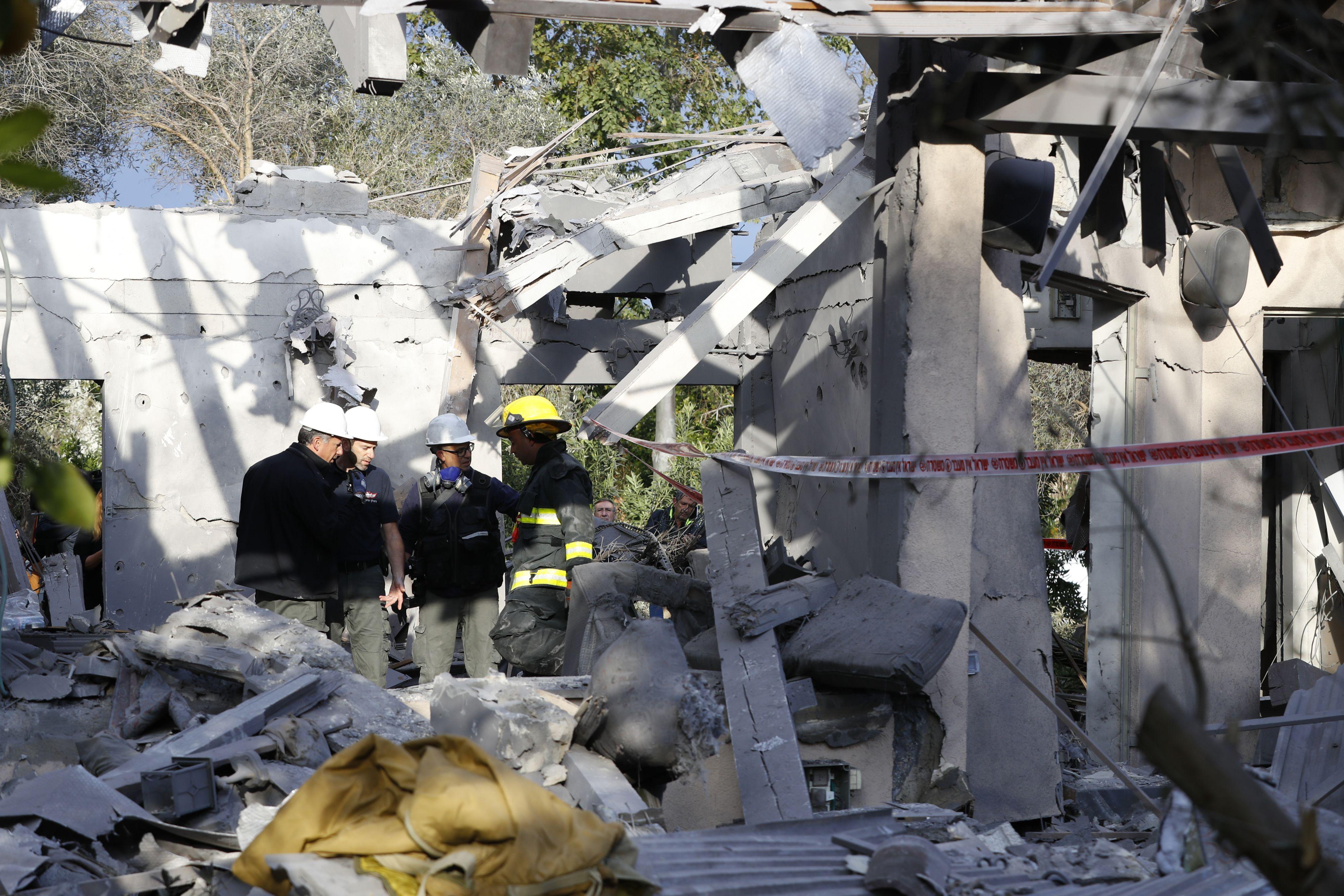 Zeven gewonden bij raketaanval Tel Aviv.