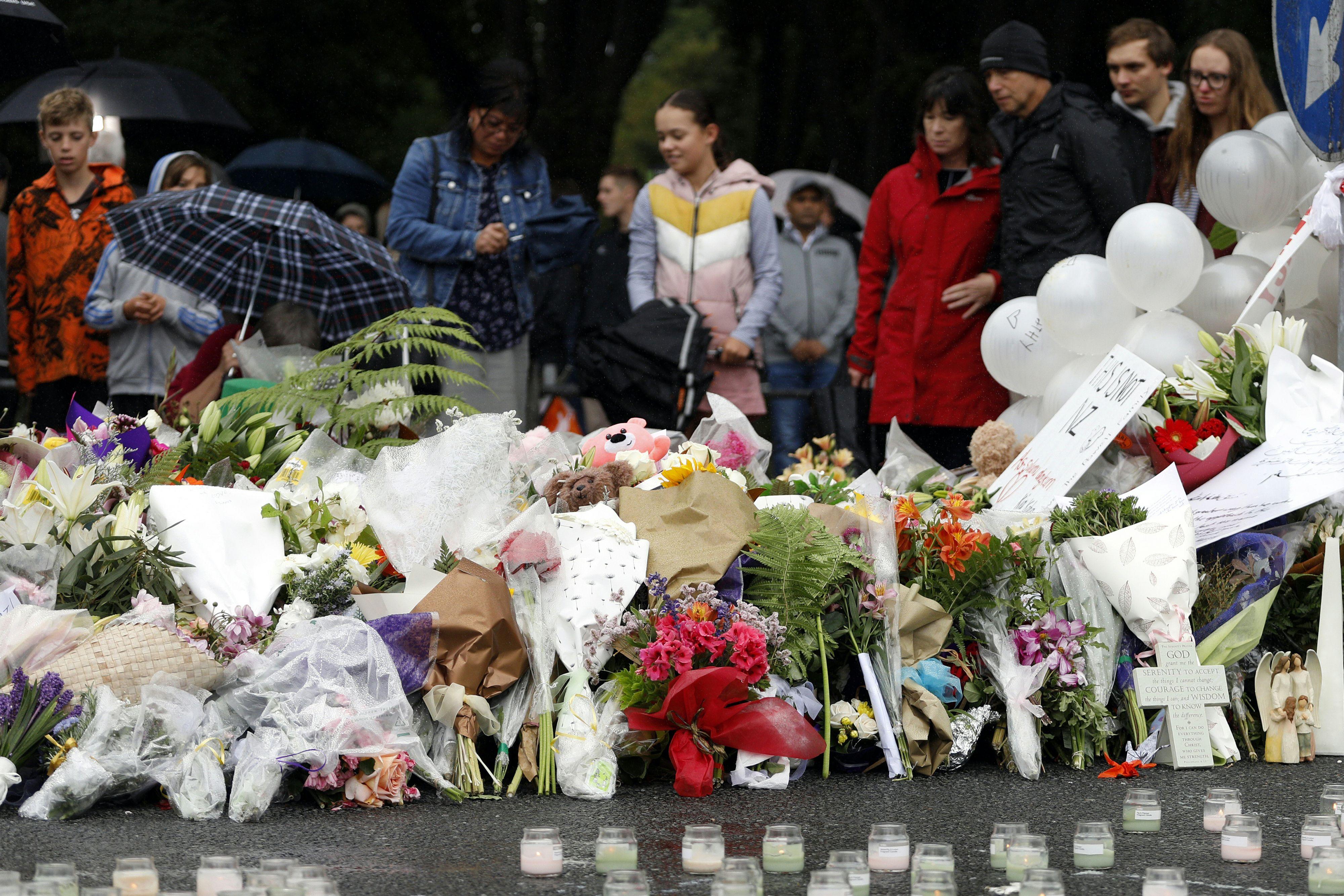 Honderden bij bijeenkomsten aanslagen Nieuw-Zeeland