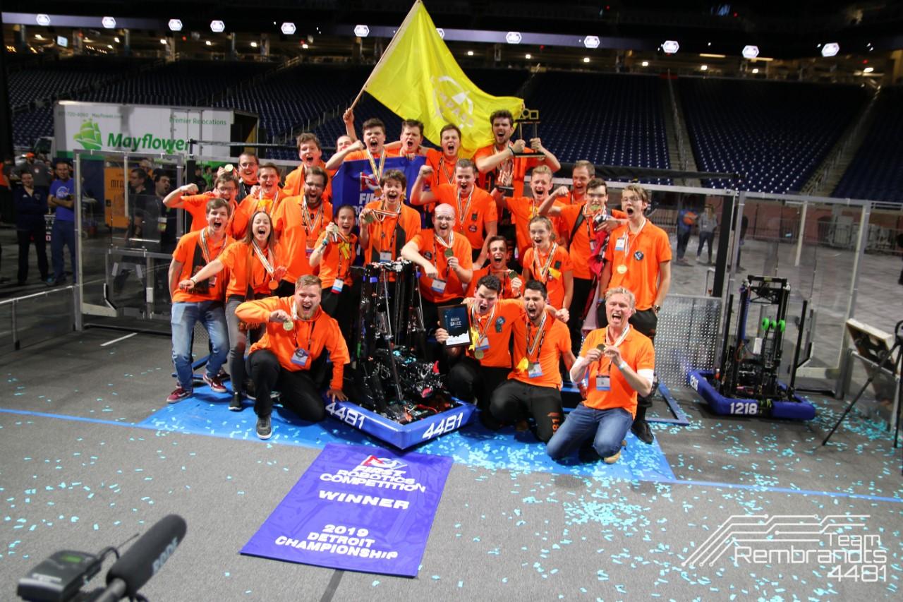 Nederlandse studenten wereldkampioen robotica