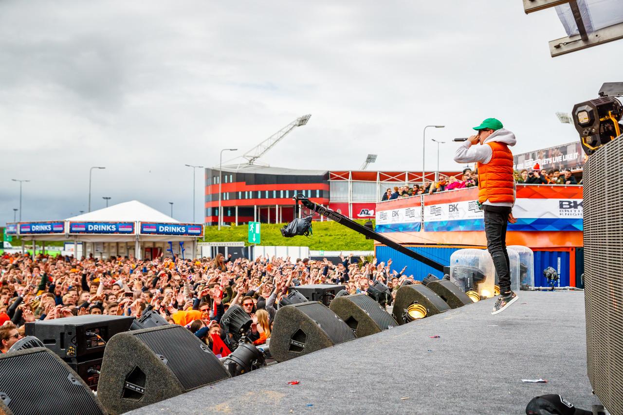 SLAM! en Alkmaar een topcombi op Koningsdag