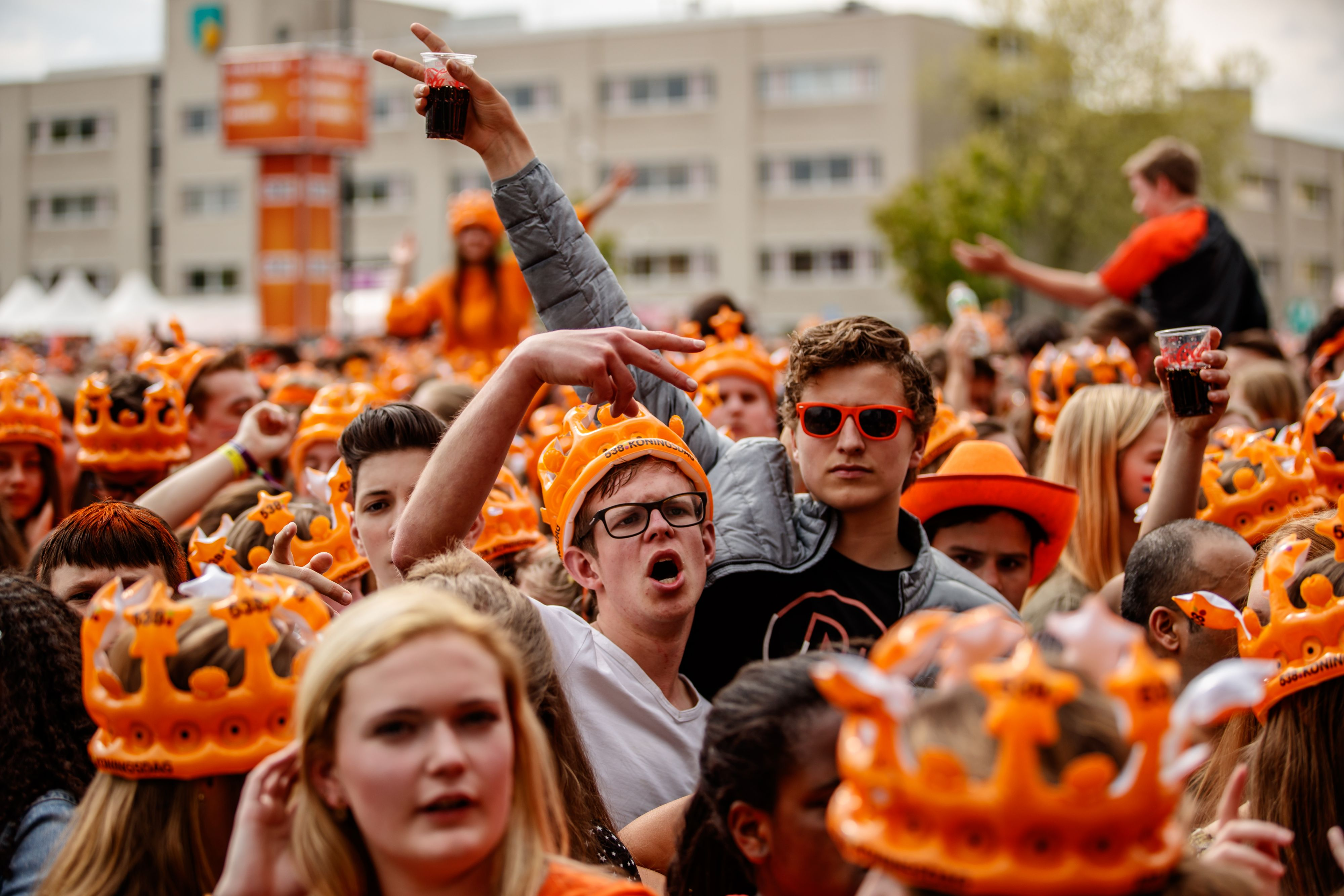 Vier op tien Nederlanders geen liefhebber Koningsdag