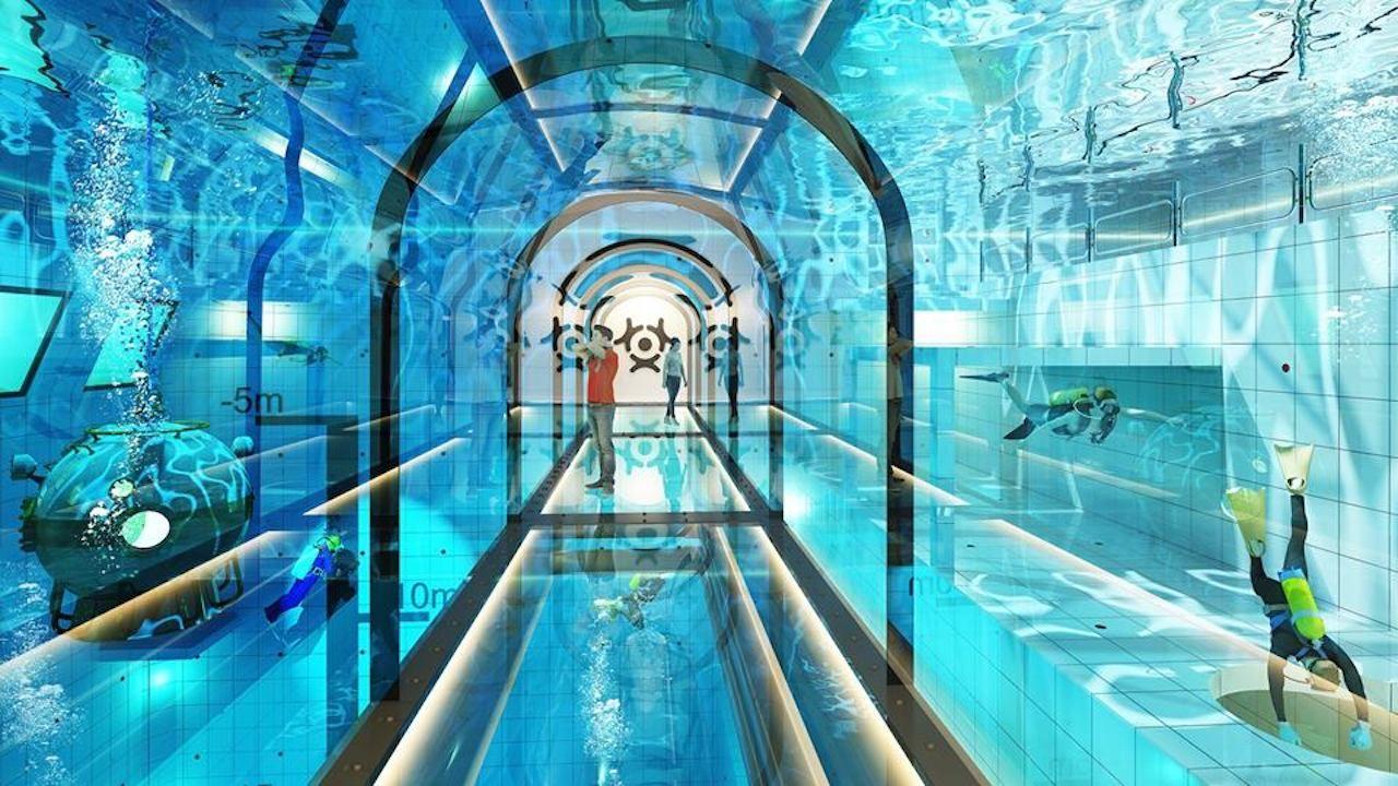 Poolse primeur: zwembad van liefst 45 meter diep
