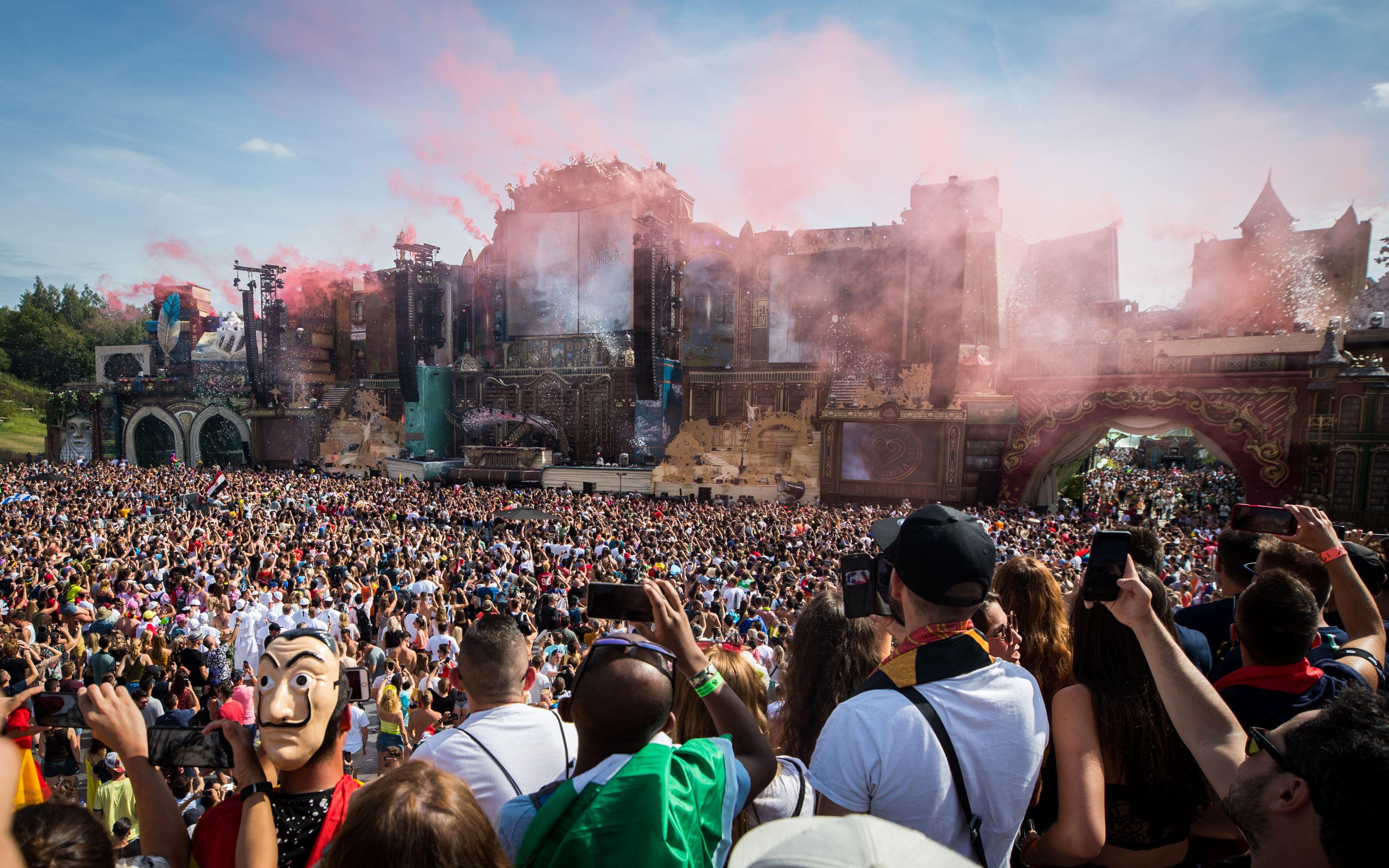 Waarom Tomorrowland zo'n groot tech-walhalla is